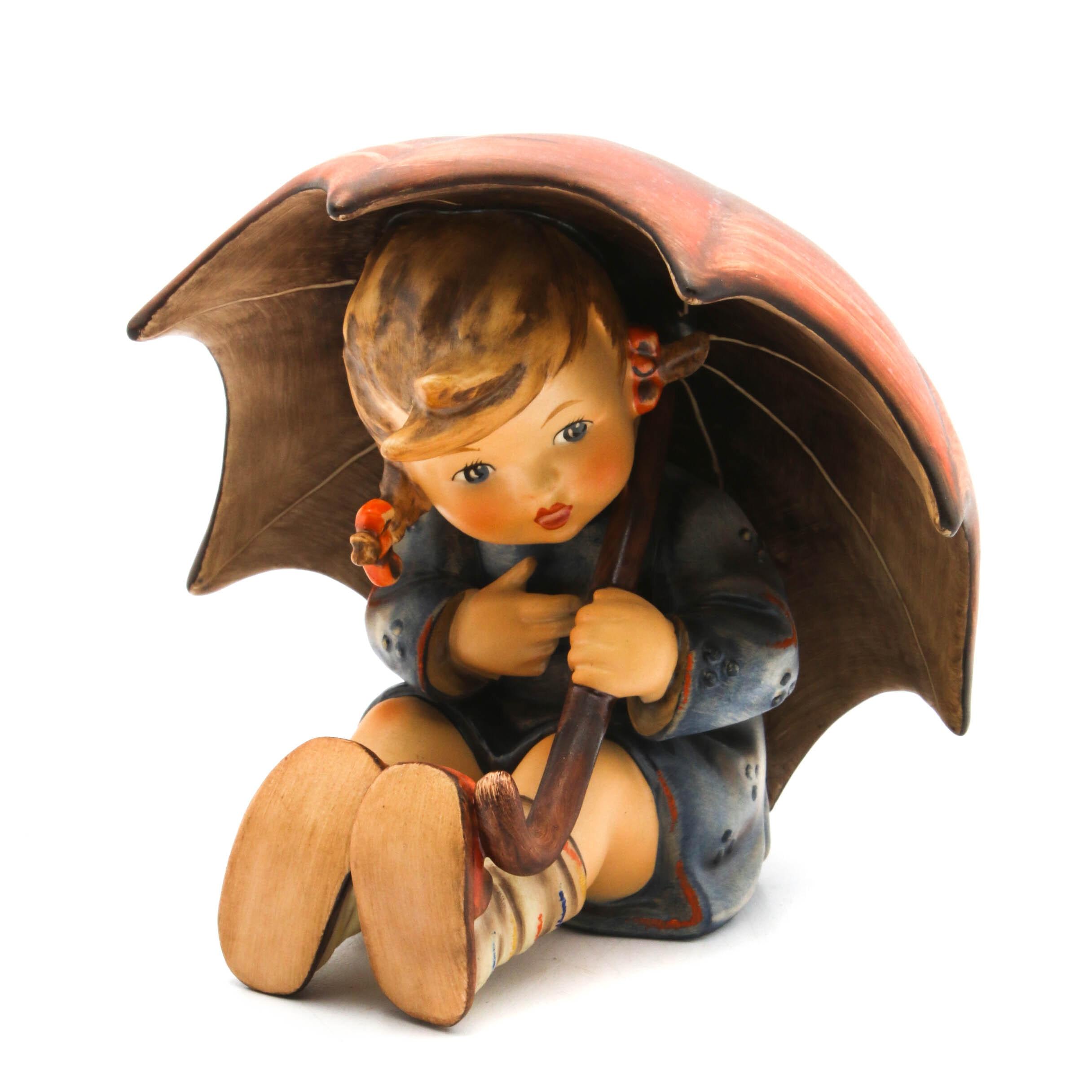 "Goebel Hummel ""Umbrella Girl"" Porcelain Figurine"