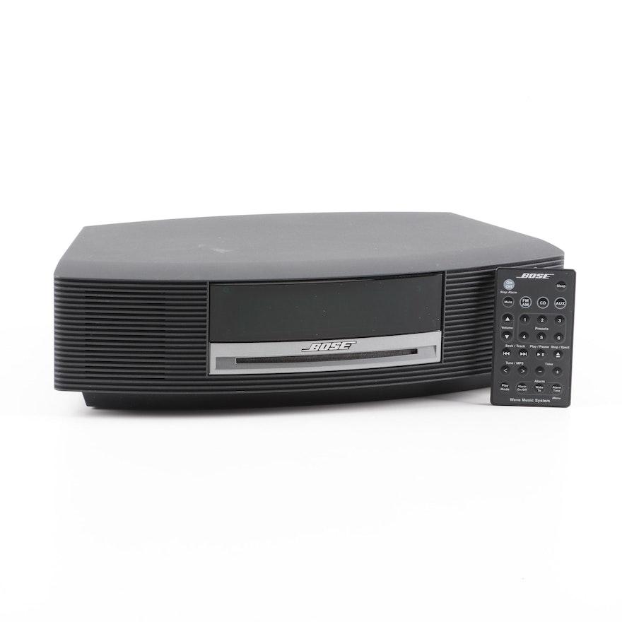 BOSE Wave Music System AM/FM Radio CD Player Model AWRCC1