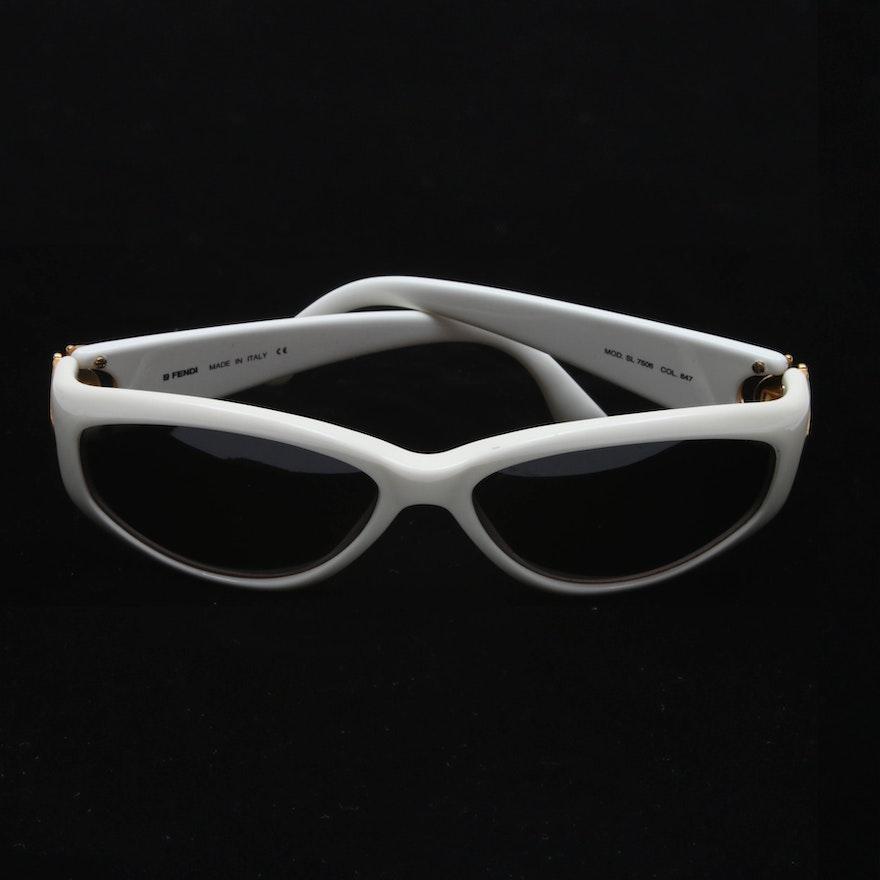ccbac18267 Fendi SL 7506 Modified Cat Eye Sunglasses