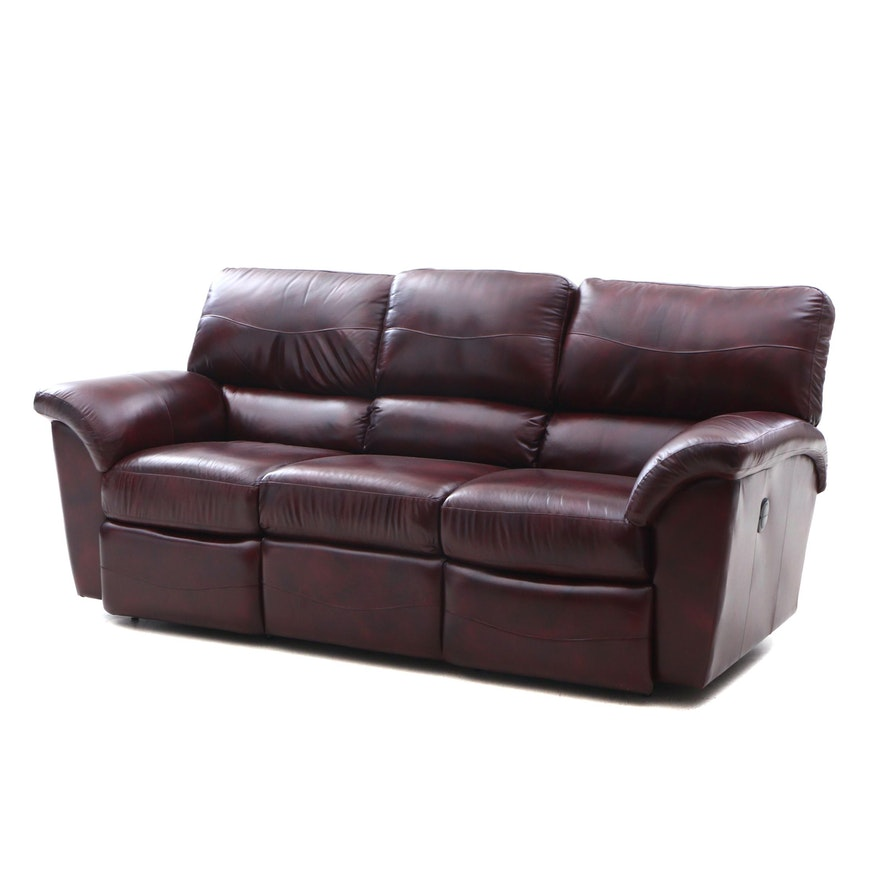 Contemporary La-Z-Boy Power Reclining Sofa : EBTH