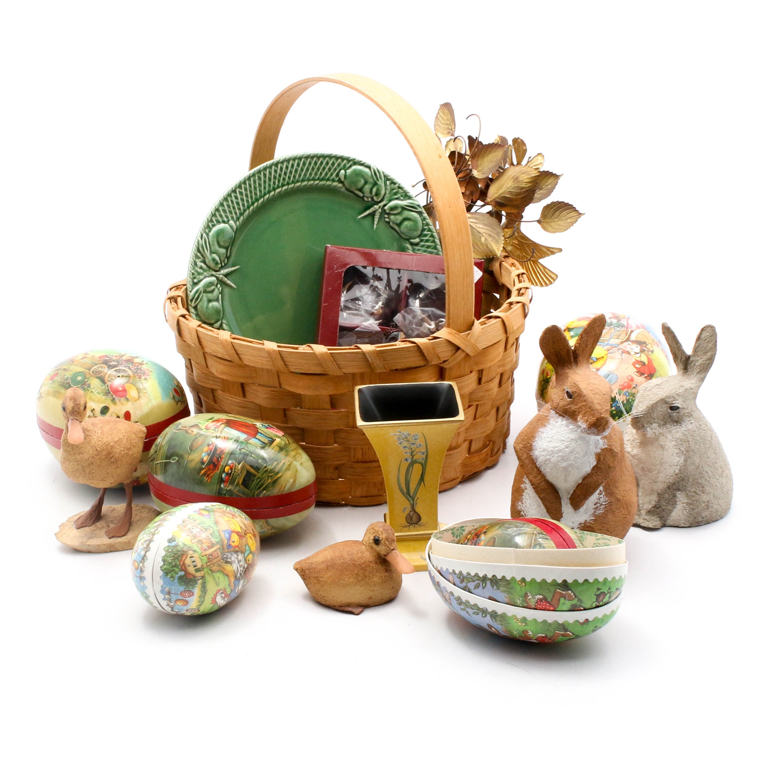 Spring and Easter Art, Decor, and Tableware Featuring Tom Coe and Arthur Court