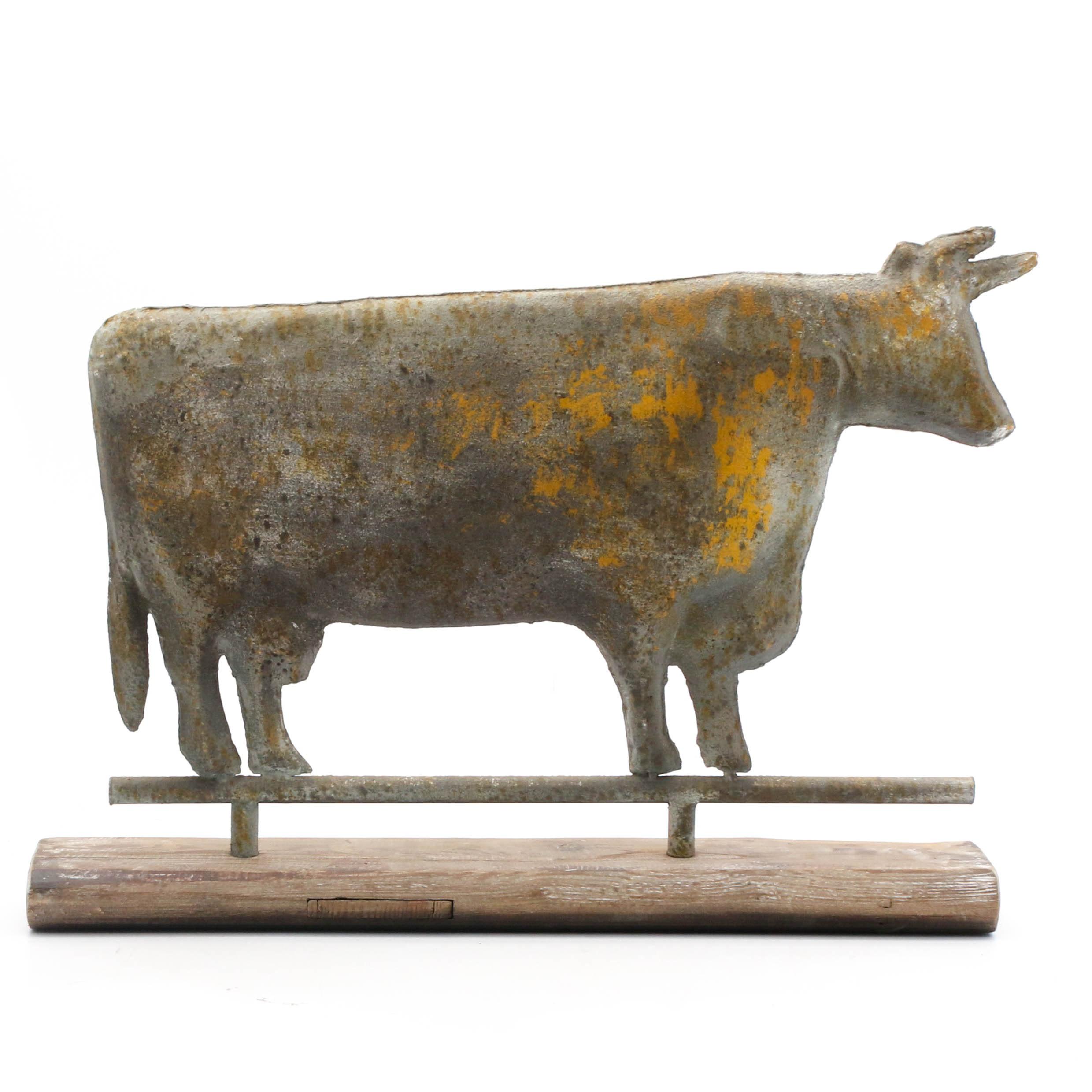 Antique Cow Weather Vane