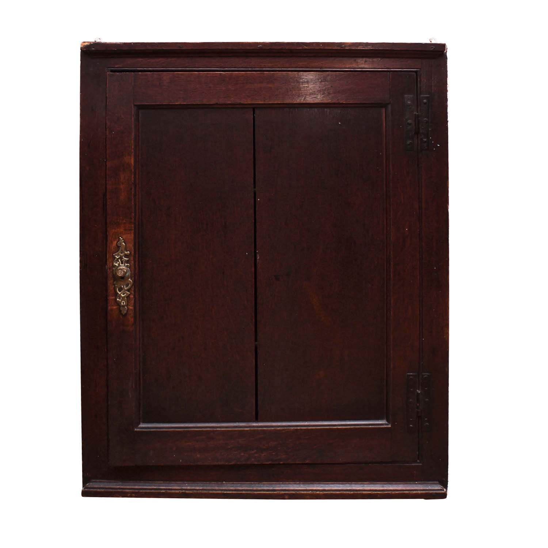 Victorian Mahogany Corner Cabinet, Antique