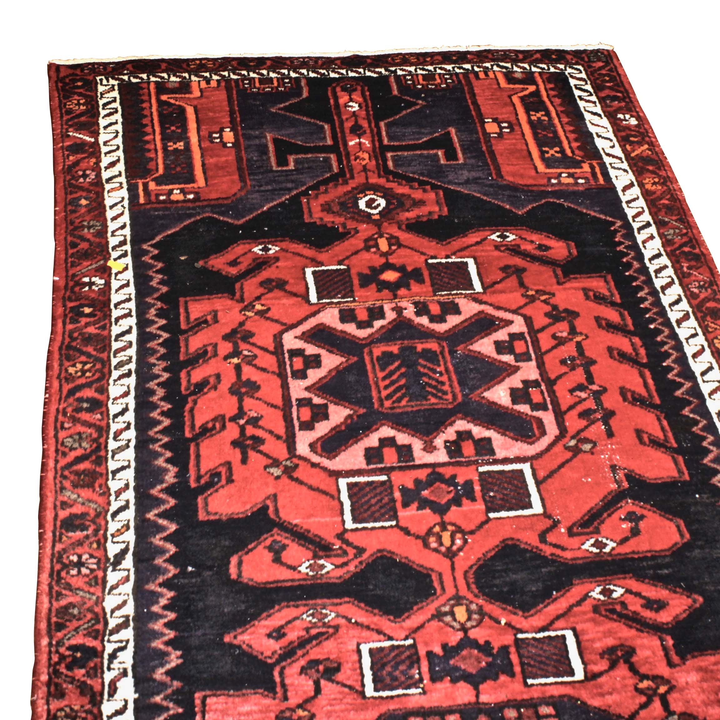 Hand-Knotted Northwest Persian Wool Long Rug