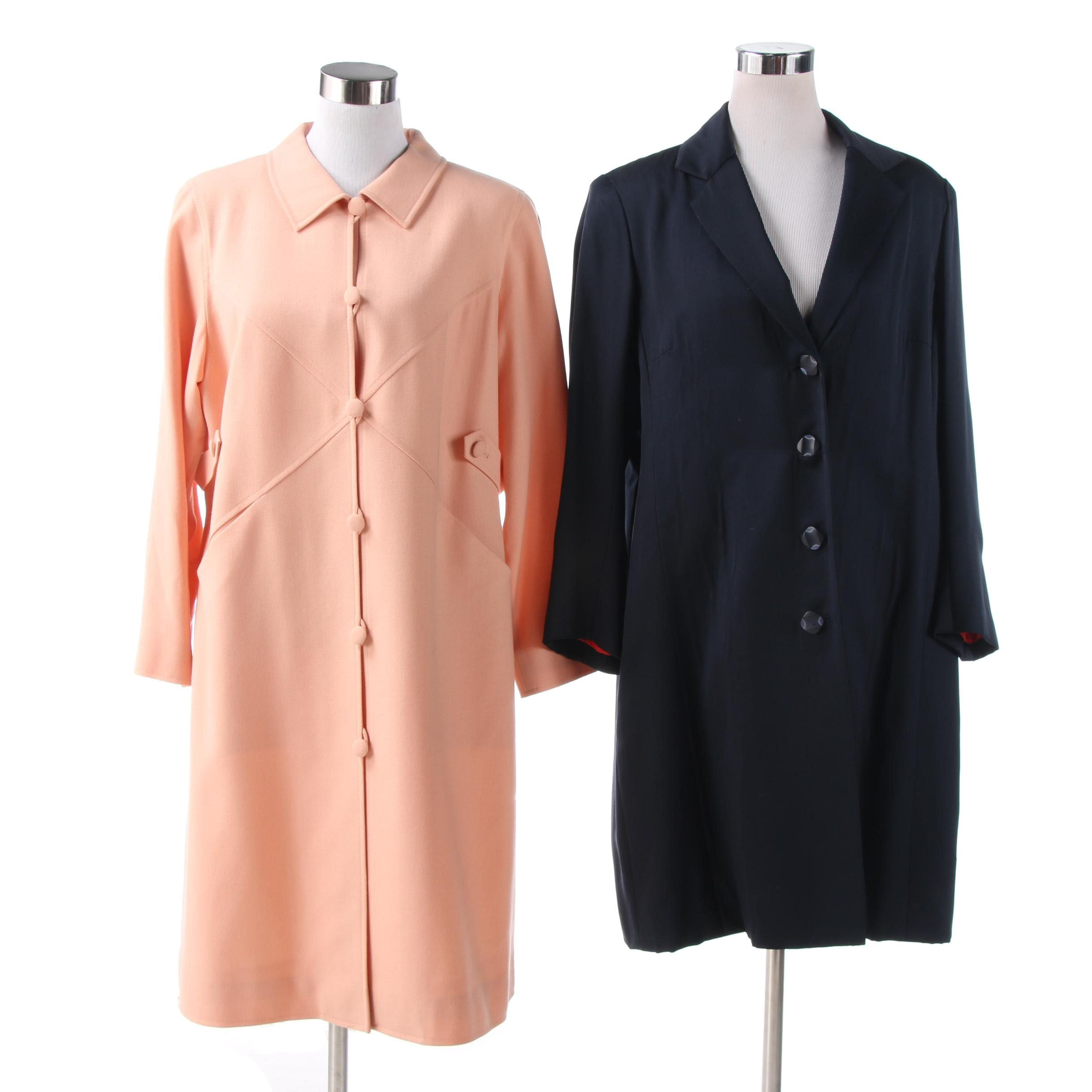 Women's Coats Featuring William Yu and Silk, Vintage