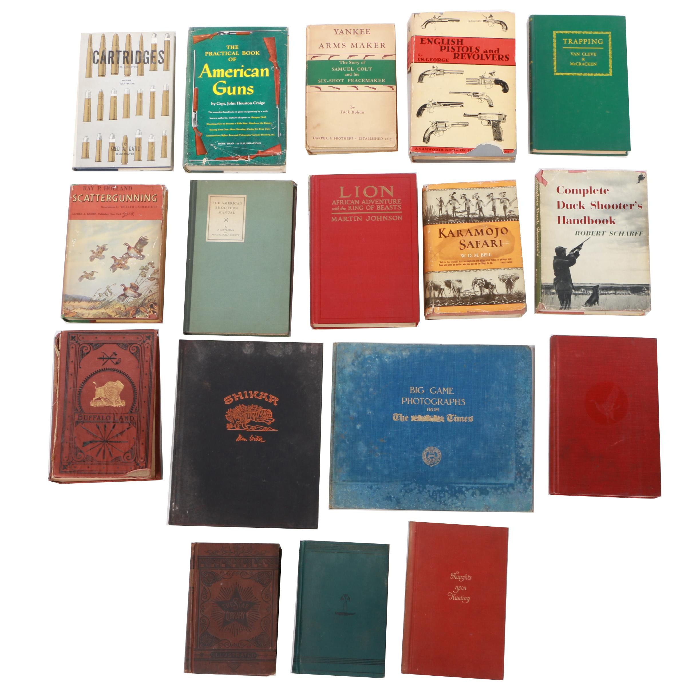Assorted Nonfiction Books including Hunting and Firearms
