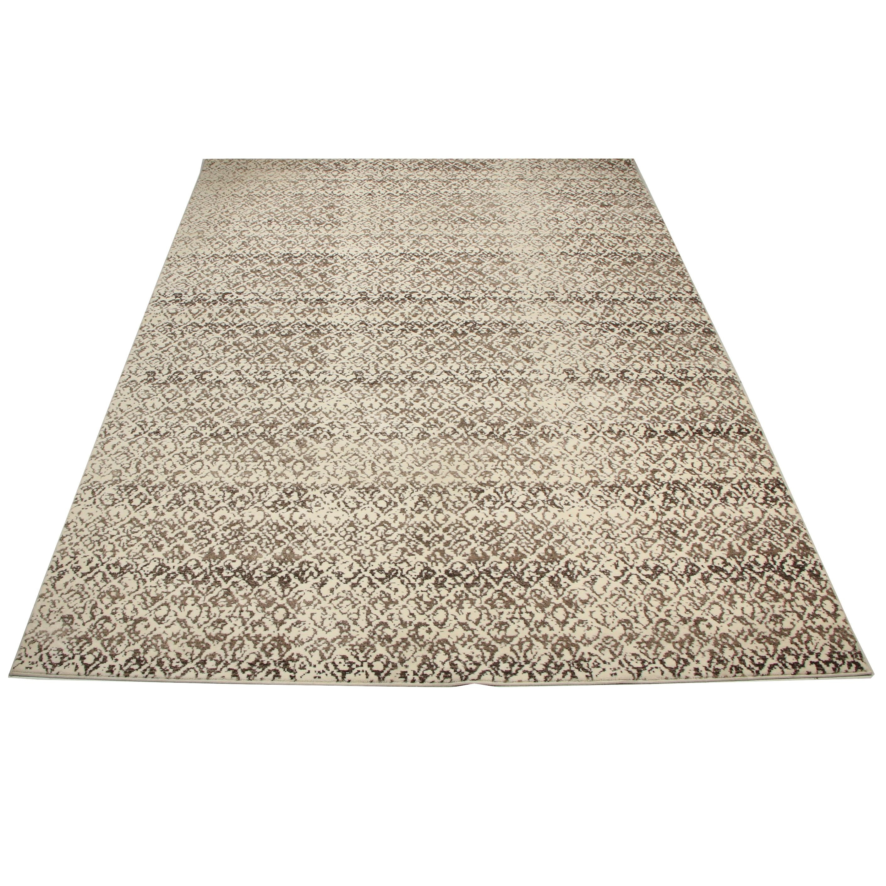 """Machine Made Feizy Rugs """"Azeri III Collection"""" Wool and Artificial Silk Rug"""