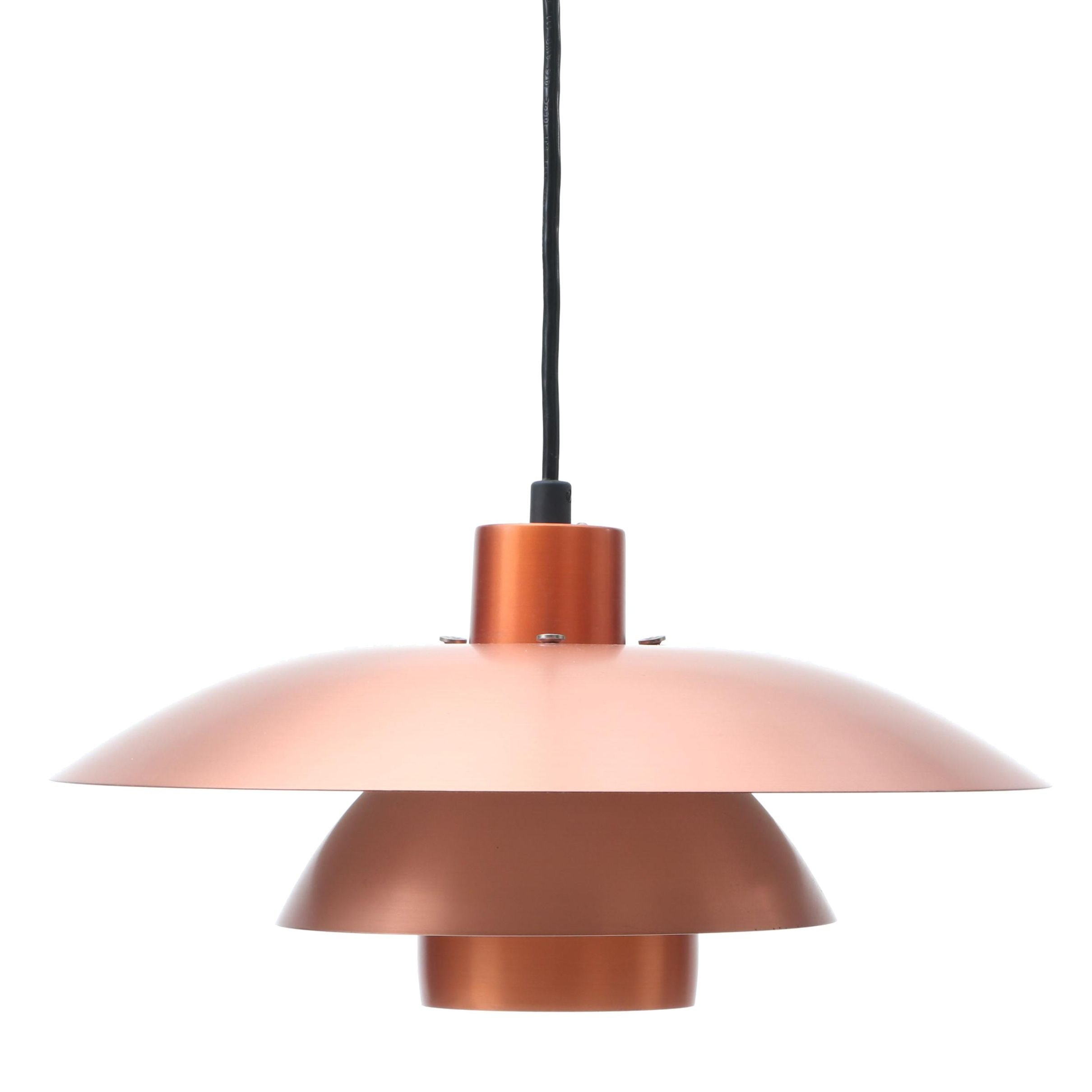 Modern Copper Pendant Light Fixture