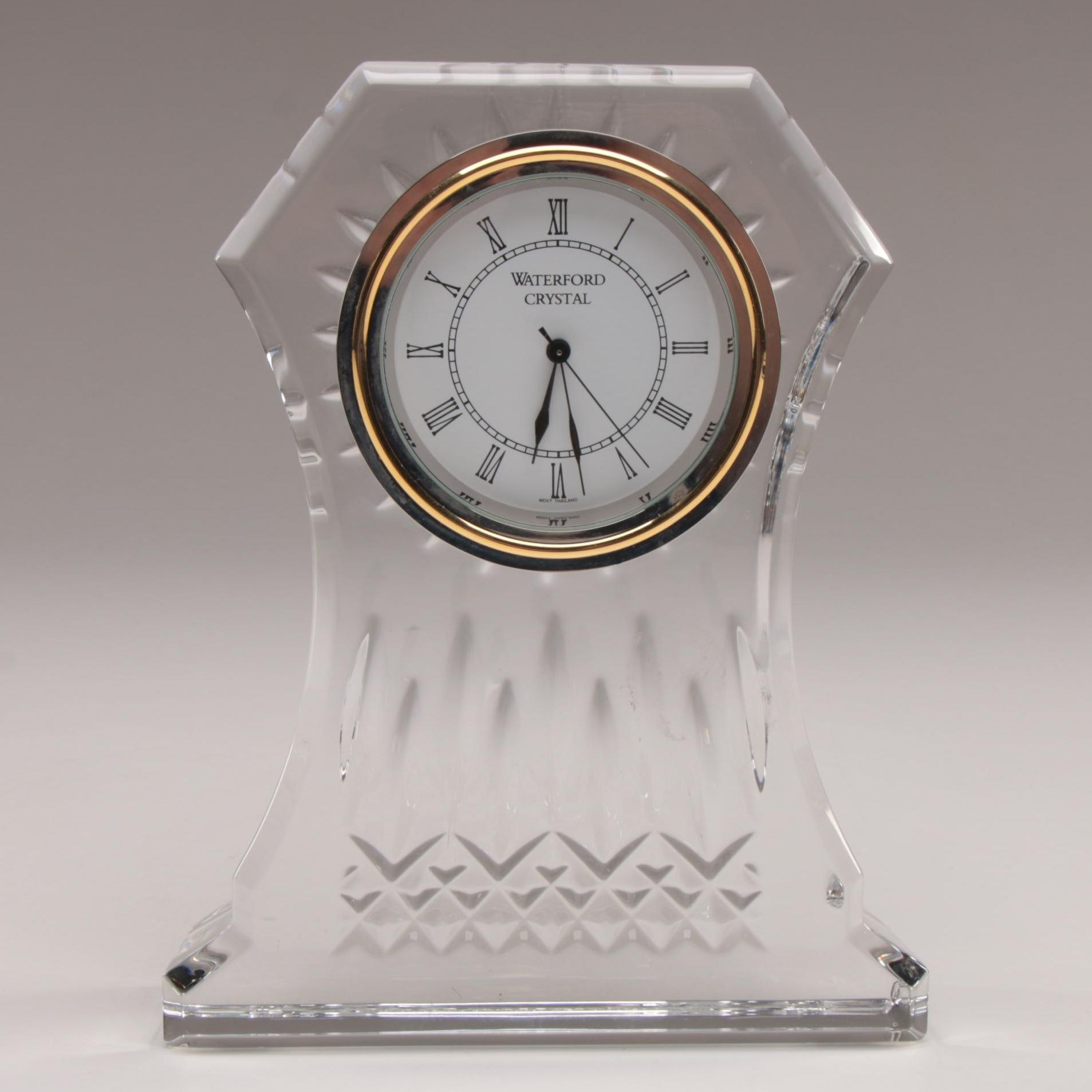 "Waterford Crystal ""Lismore"" Mantel Clock"