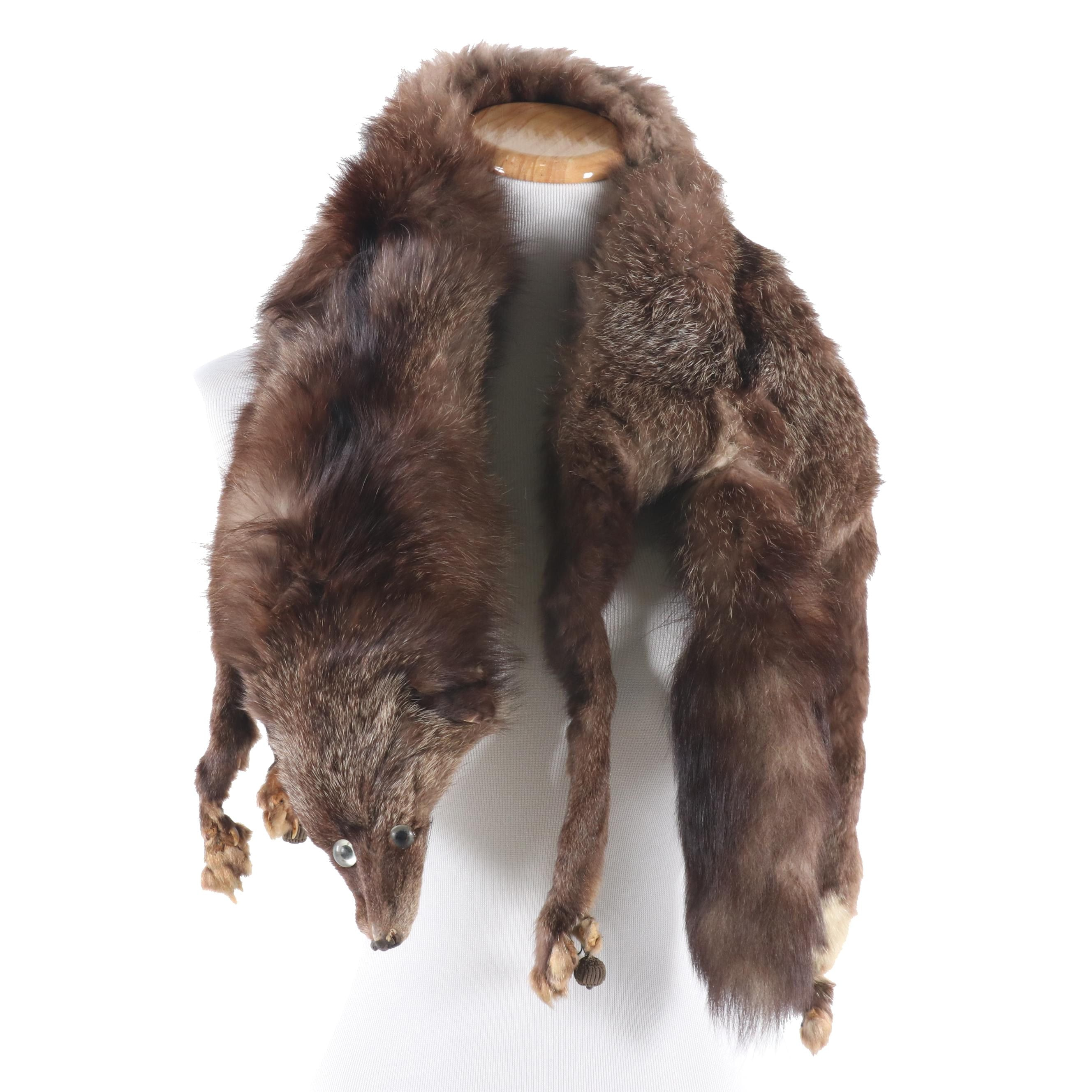 Fox Fur Pelt Stole