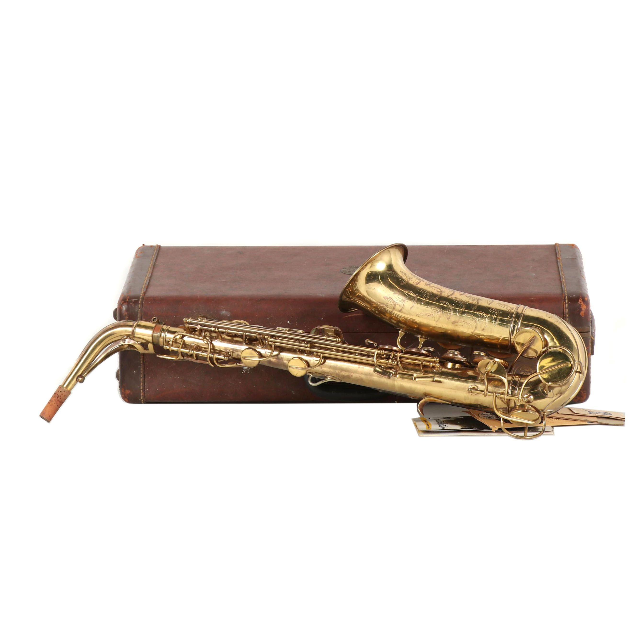 Vintage Conn Alto Saxophone in Case