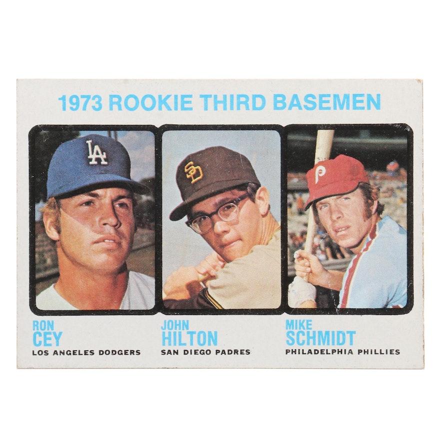 1973 Mike Schmidt Philadelphia Phillies Topps 615 Rookie Baseball Card