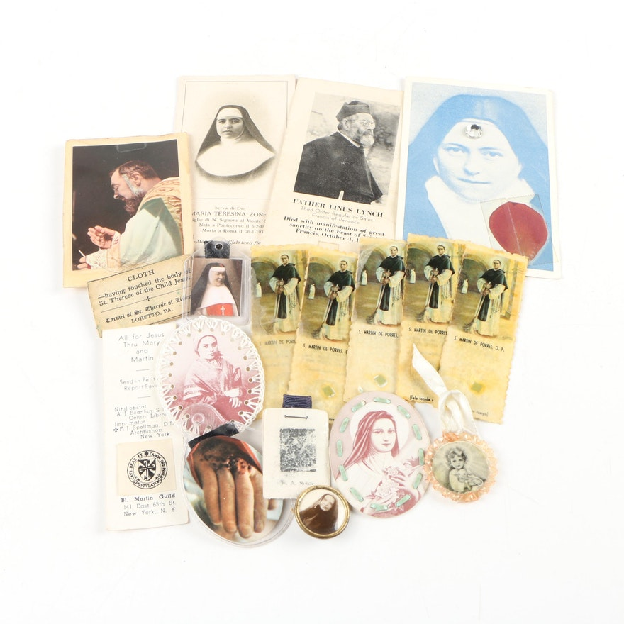 Prayer Cards and Religious Keepsakes