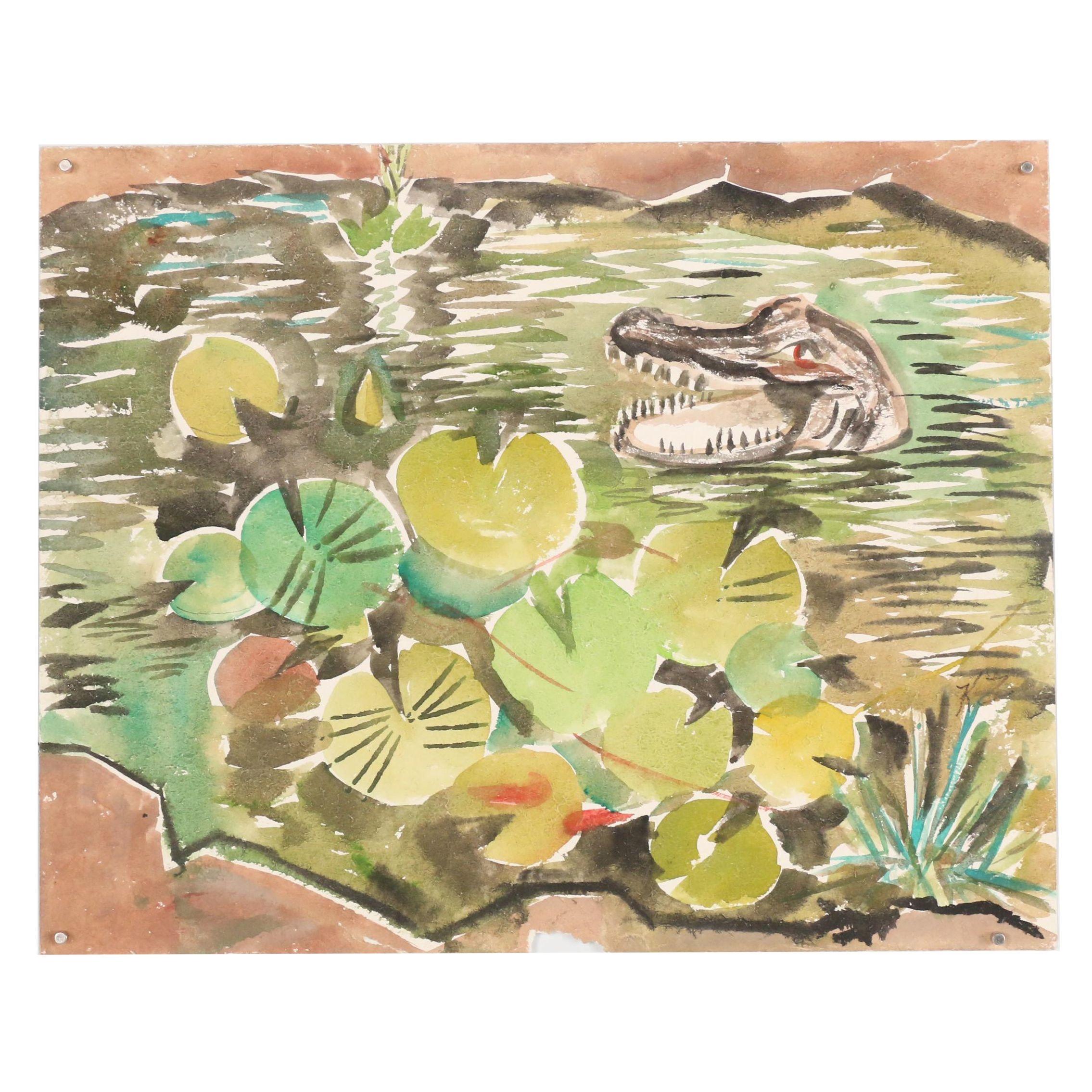 Kathleen Zimbicki Watercolor Painting