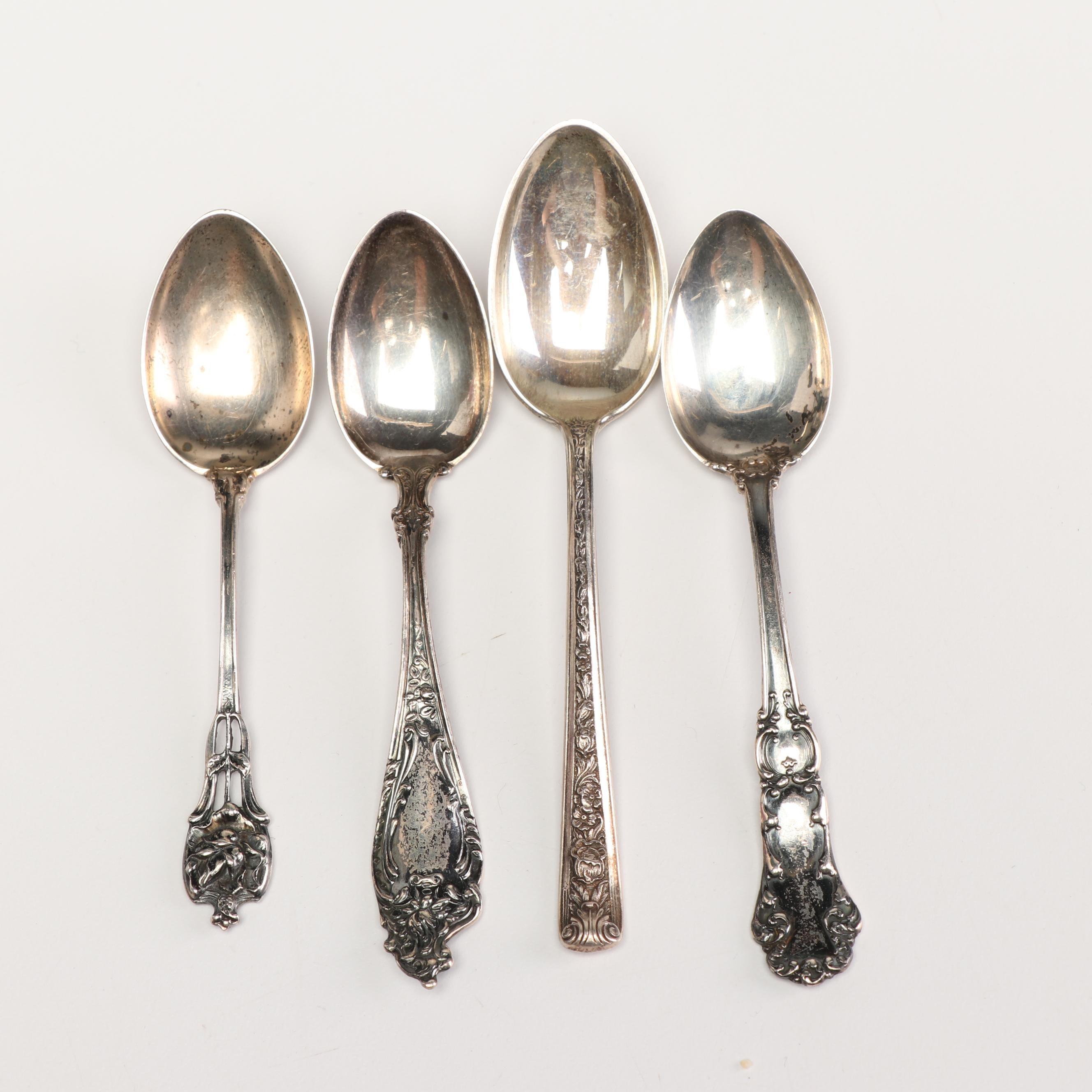Vintage Sterling Silver Kids Spoons