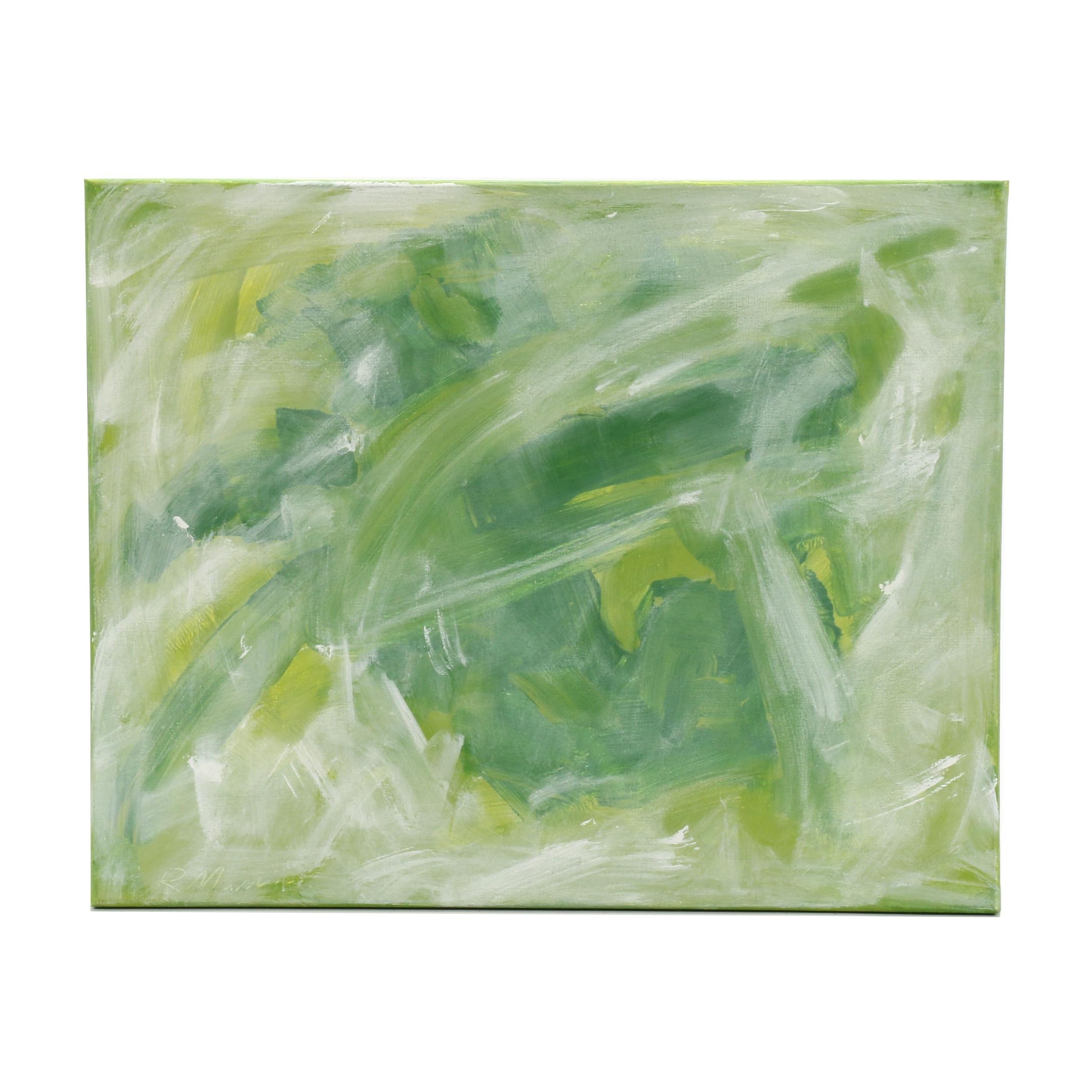 "Rebecca Manns Oil Painting ""Echo of Peridot"""