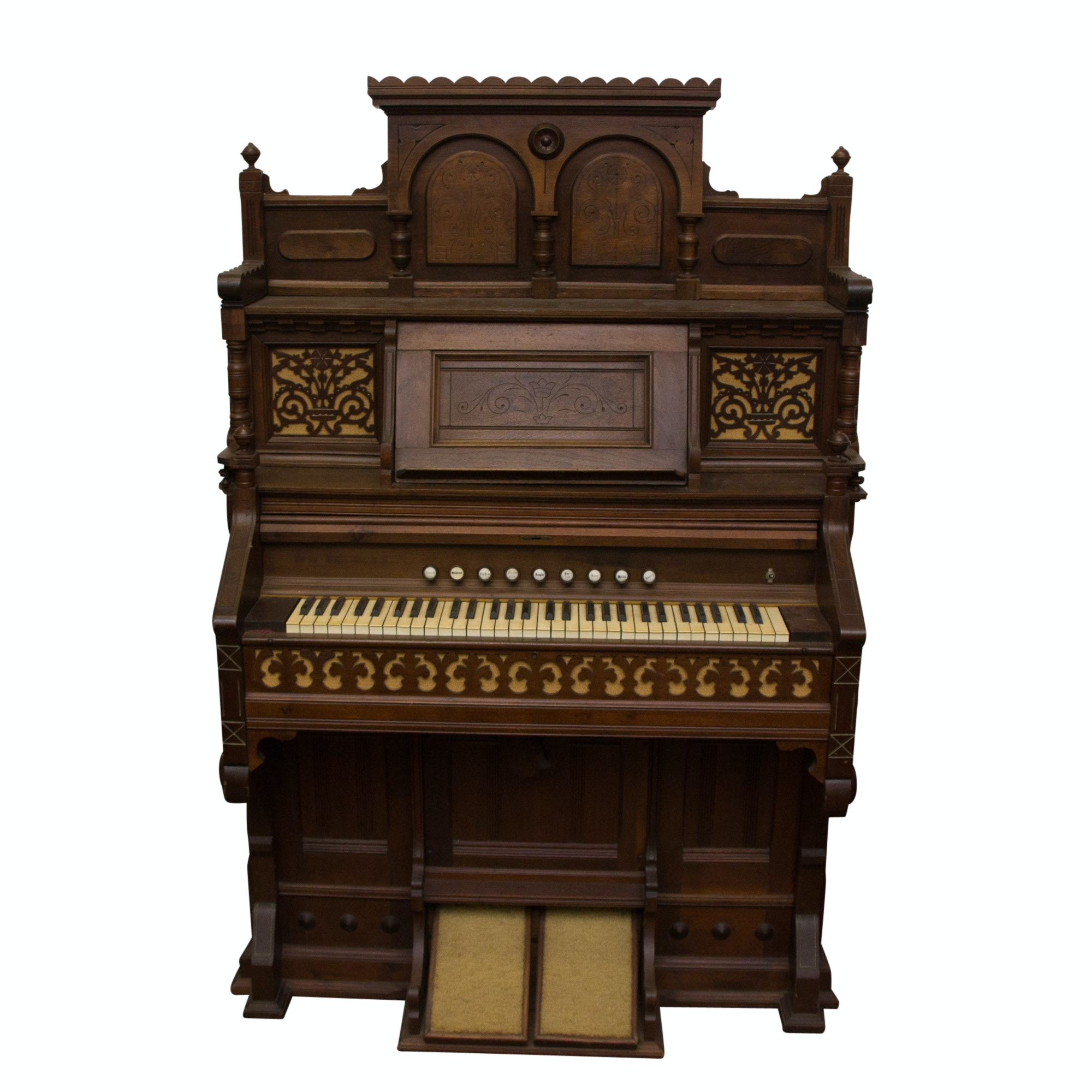 Vintage Eastlake Style Organ