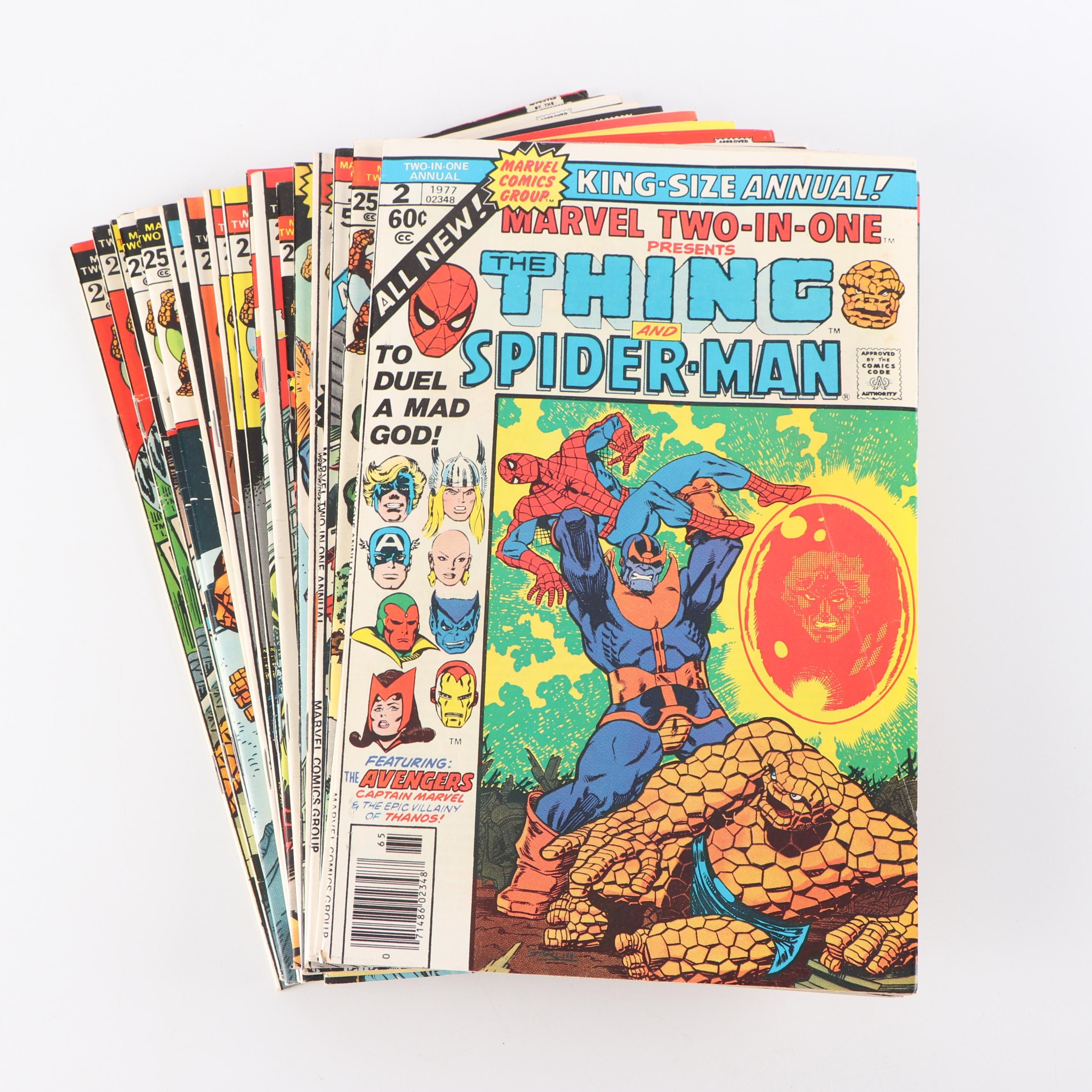 "Bronze Age ""The Thing"" Comic Books"