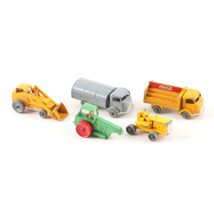 Vintage Lesney English-Made Die Cast Trucks