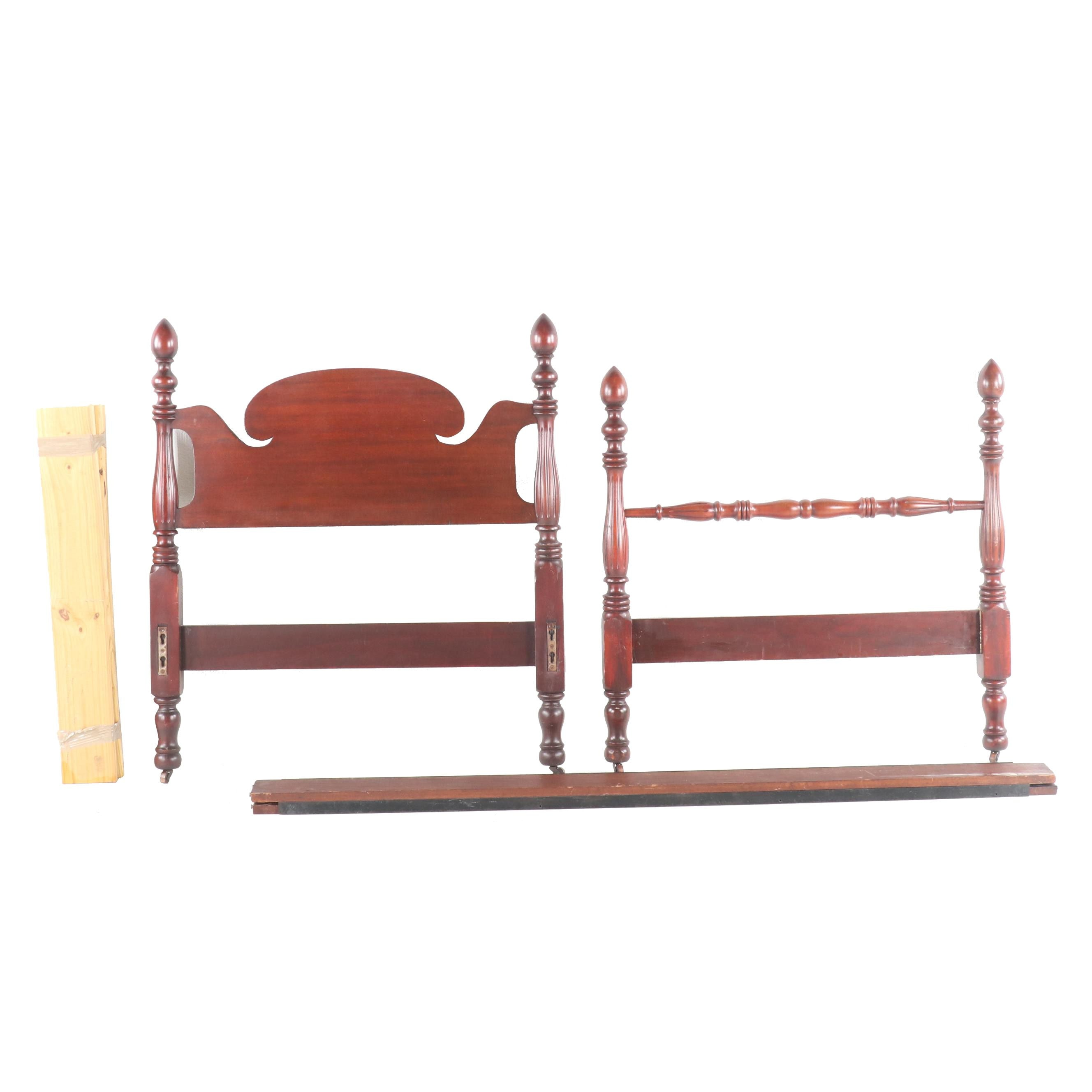 Cherry Twin Bed Frame