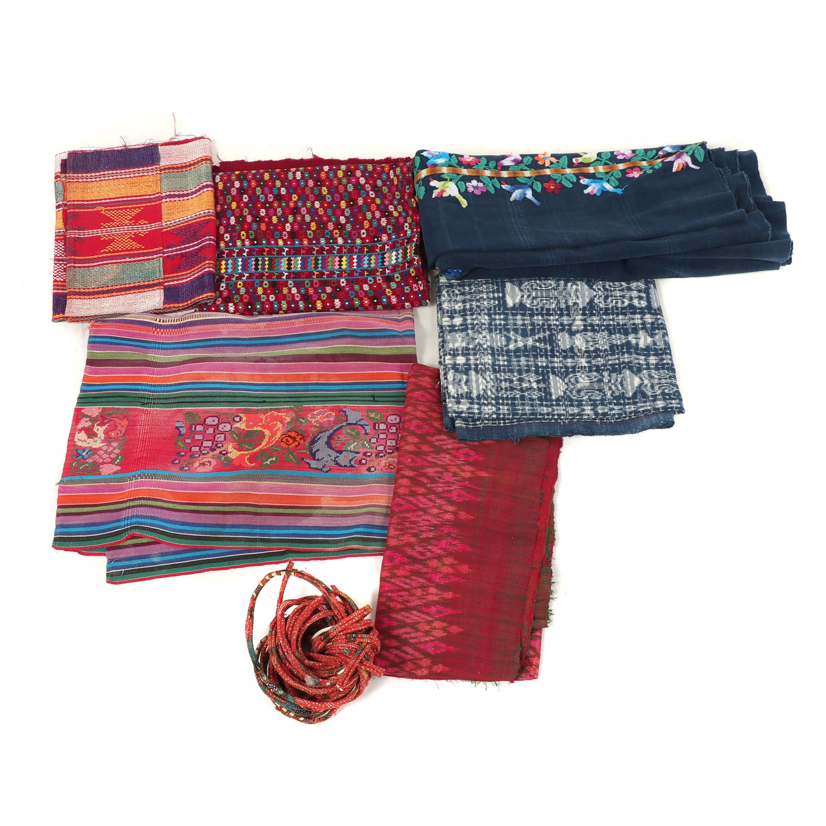 Handwoven Textiles and Embroidered Fabrics