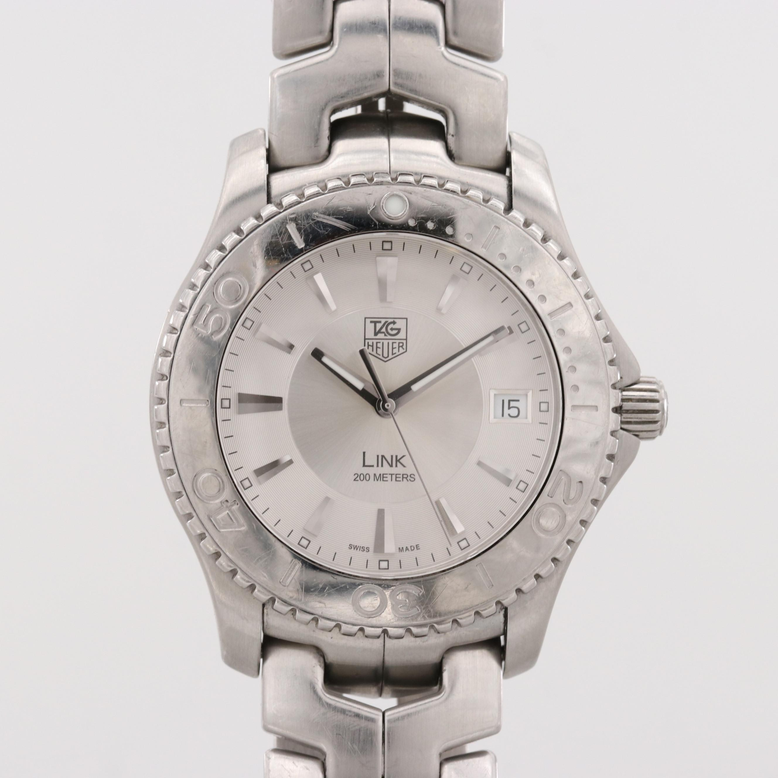 TAG Heuer Link Stainless Steel Quartz Wristwatch