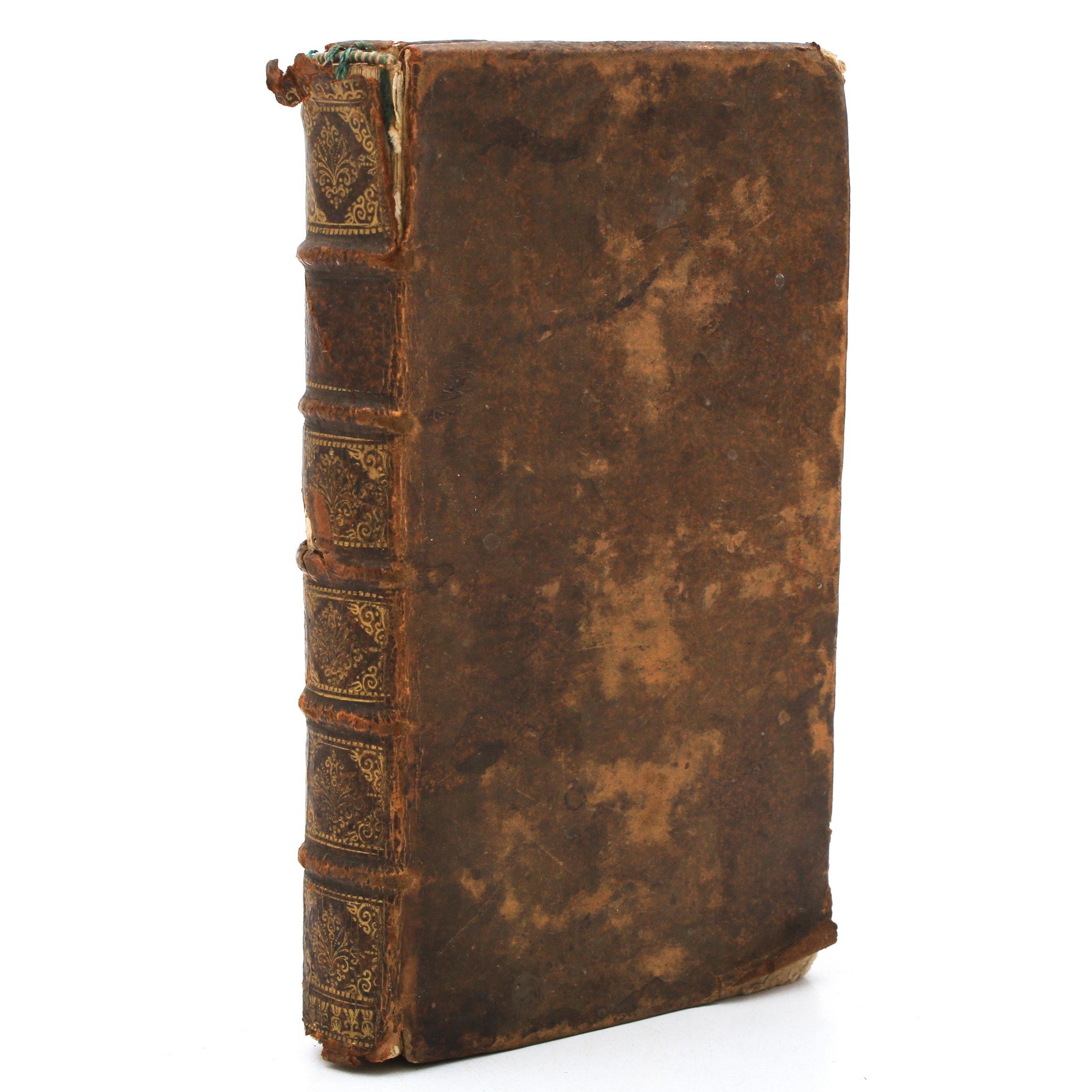 """1698 """"Poeme de S. Prosper Contre Les Ingrats"""" by Prosper of Aquitaine"""