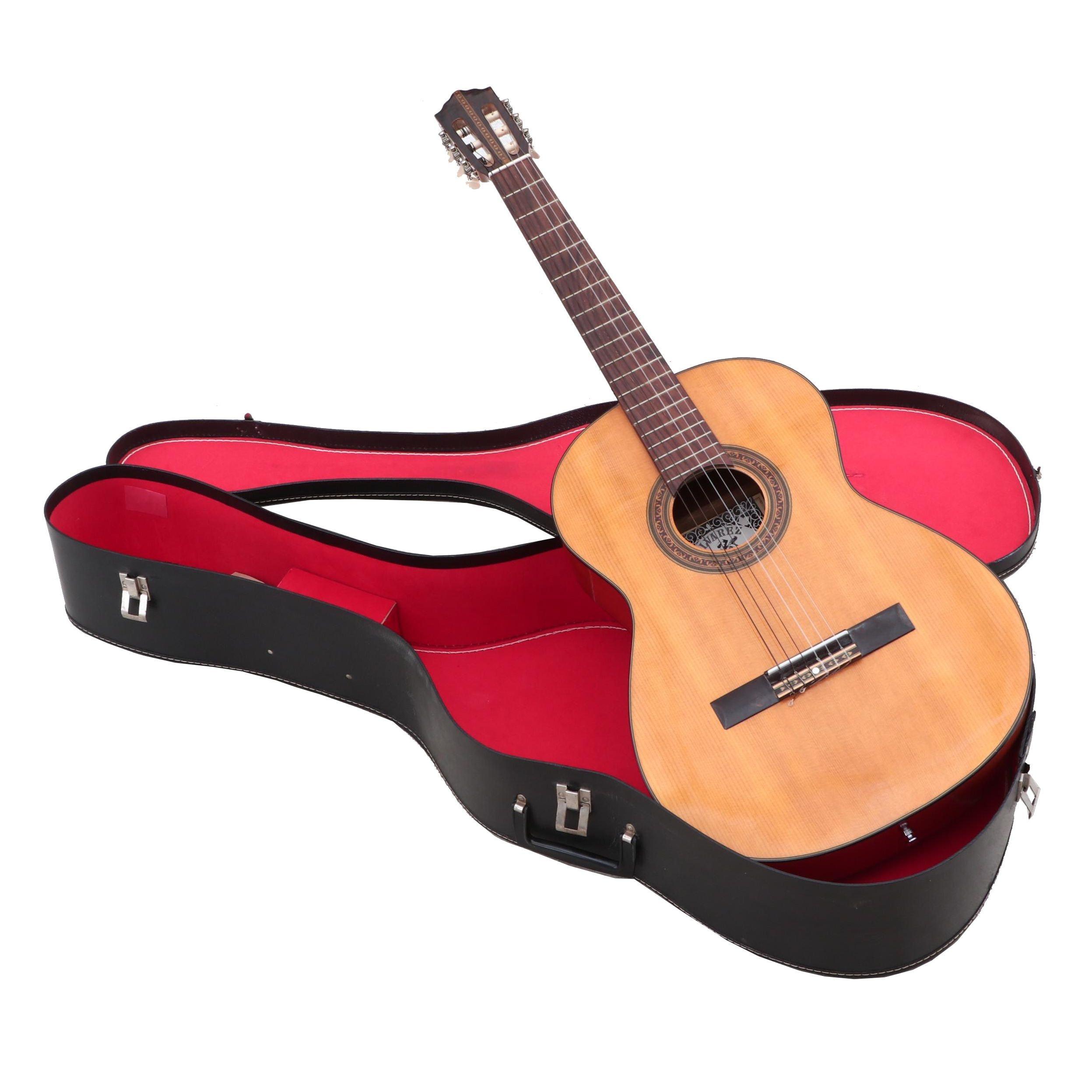 Vintage Alvarez 5011 Classical Acoustic Guitar with Carrying Case, 1970s