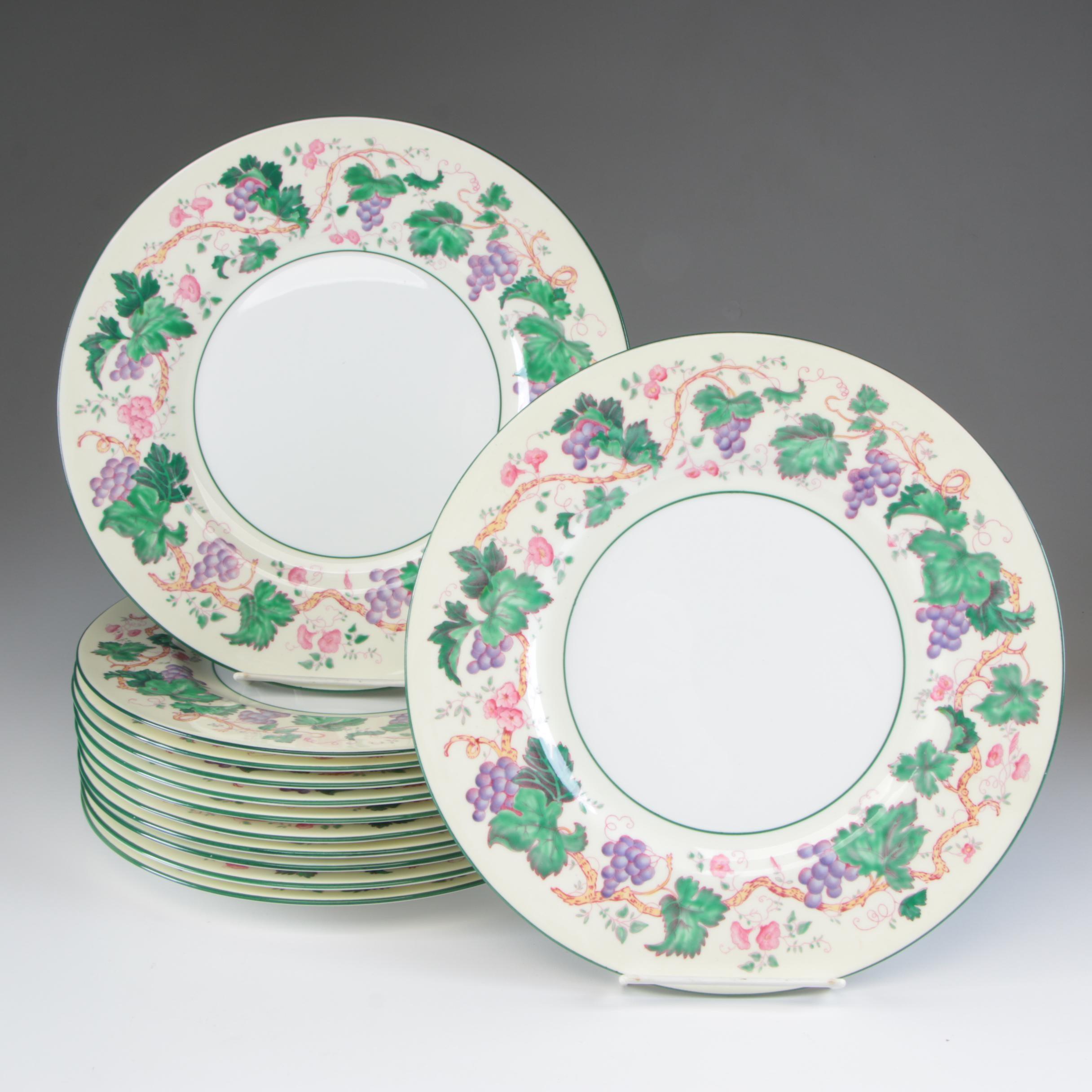 Wedgwood Bone China Dinner Plates, Early 20th Century