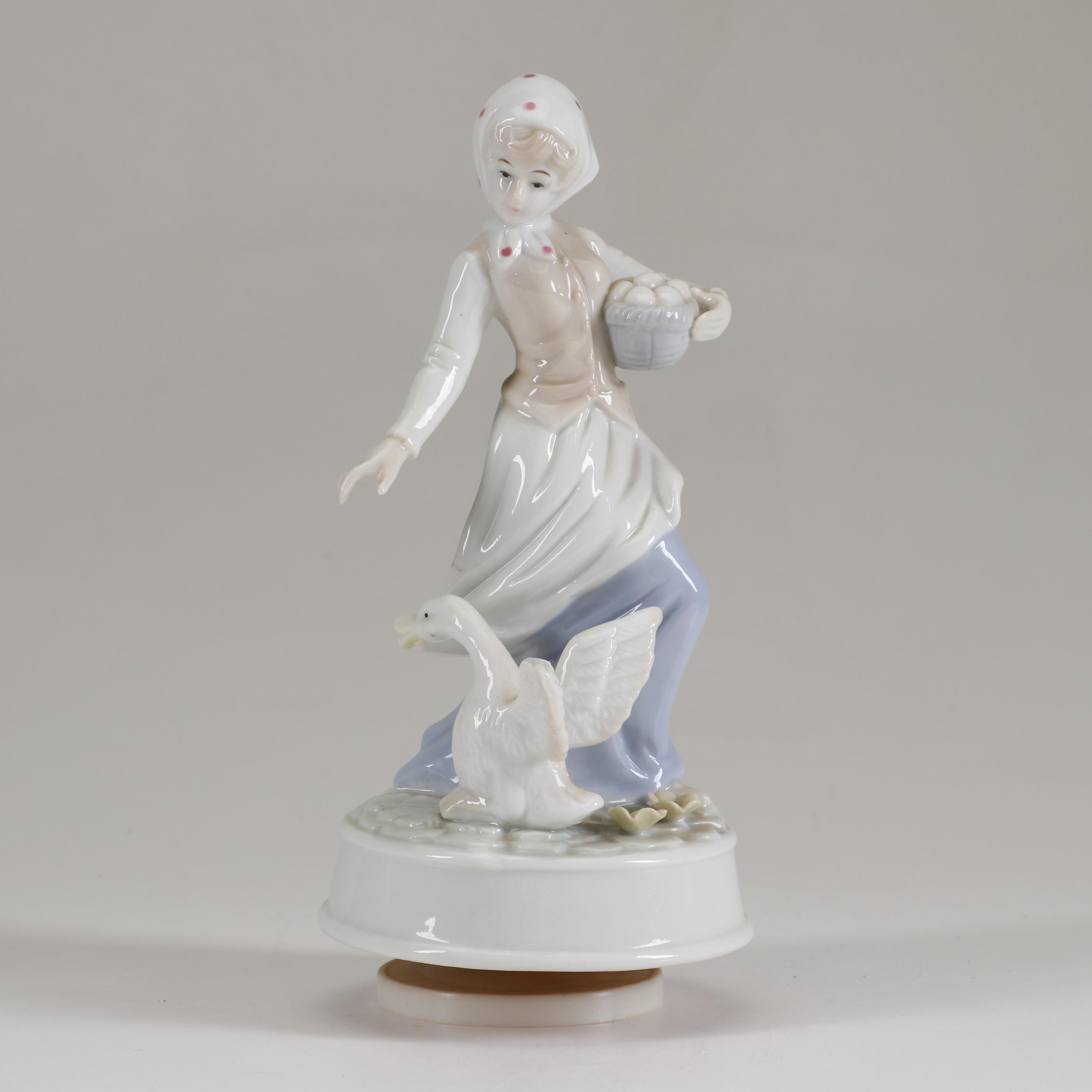 Porcelain Musical Figurine