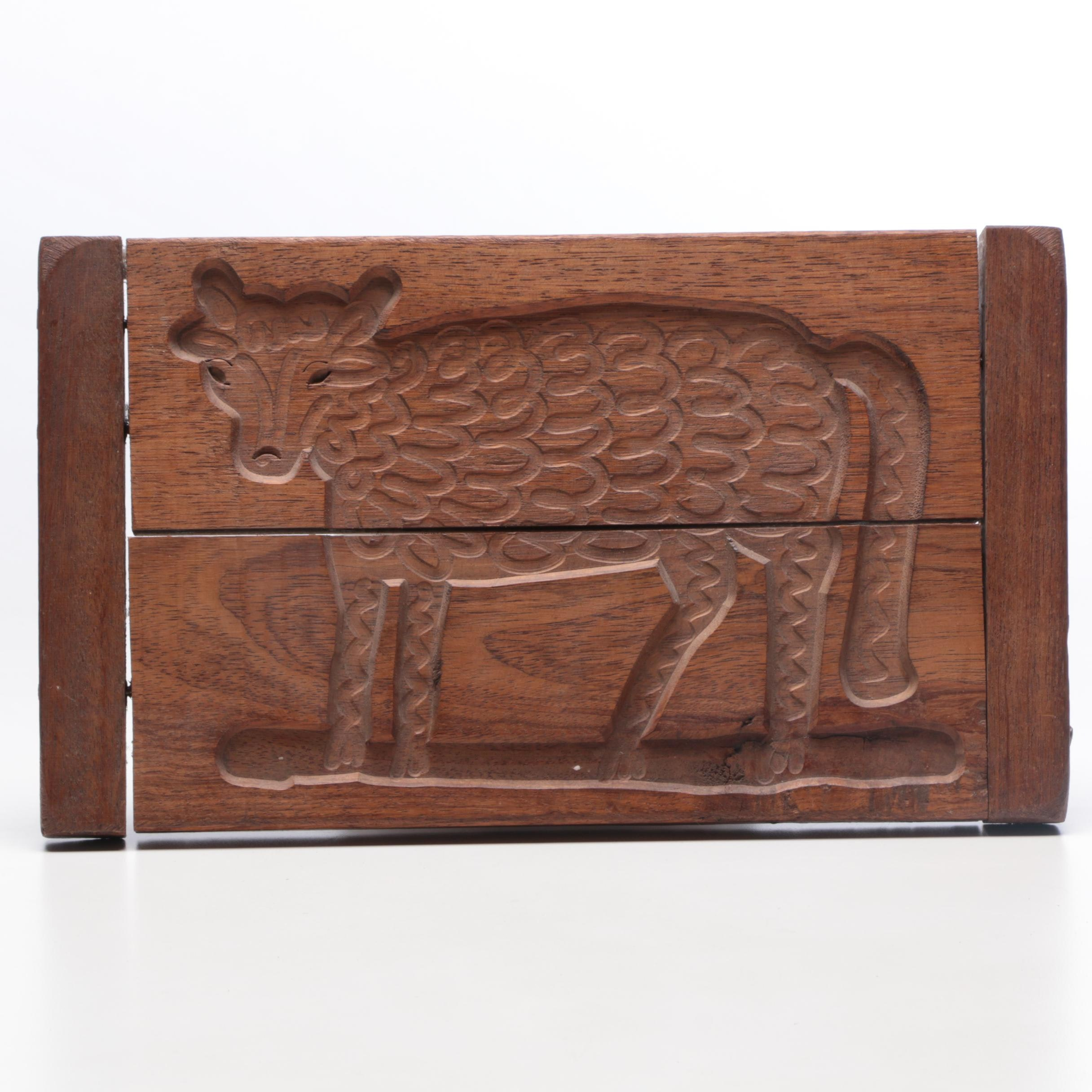 Cow Motif Ginerbread Mold