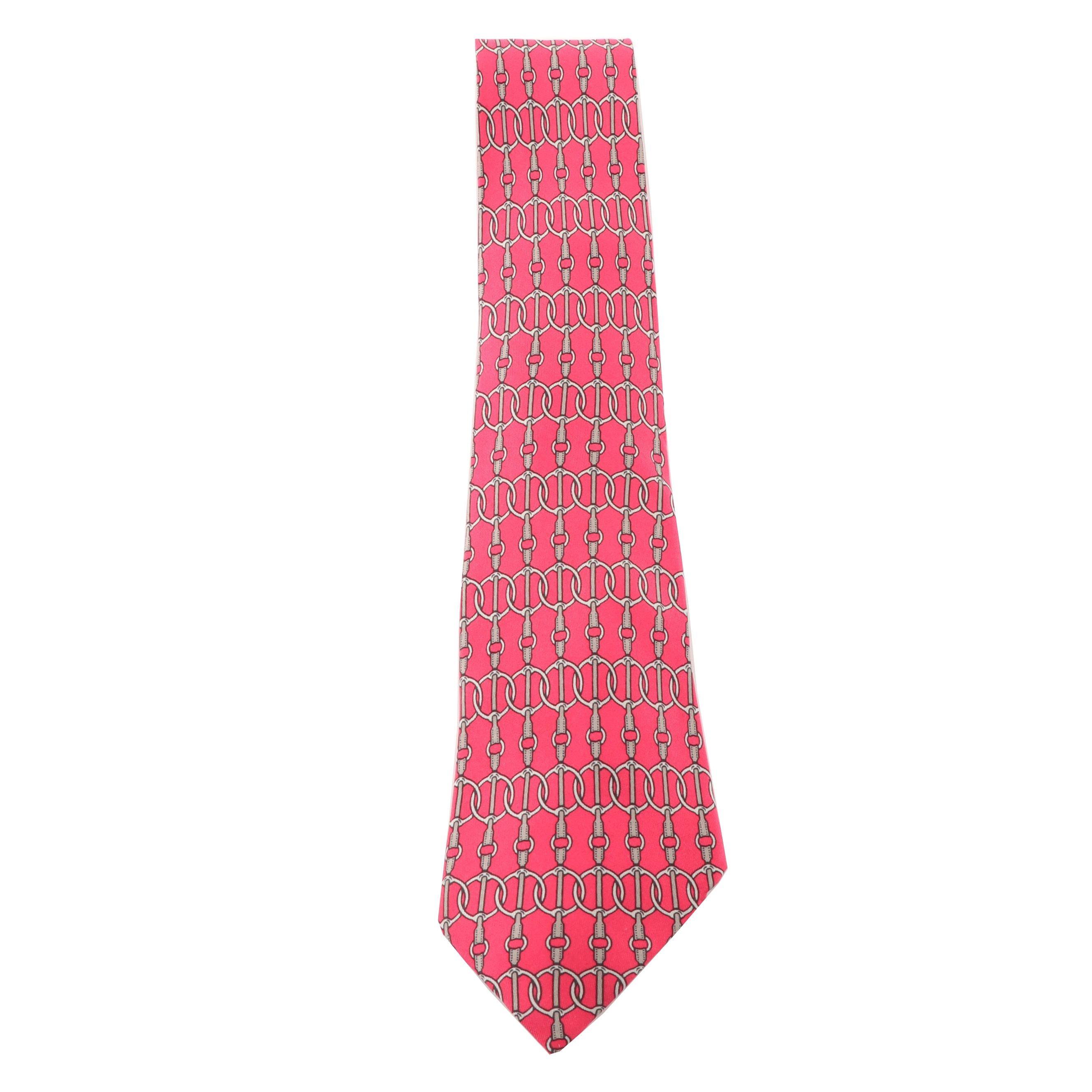Hermès Paris 597 SA  Silk Necktie