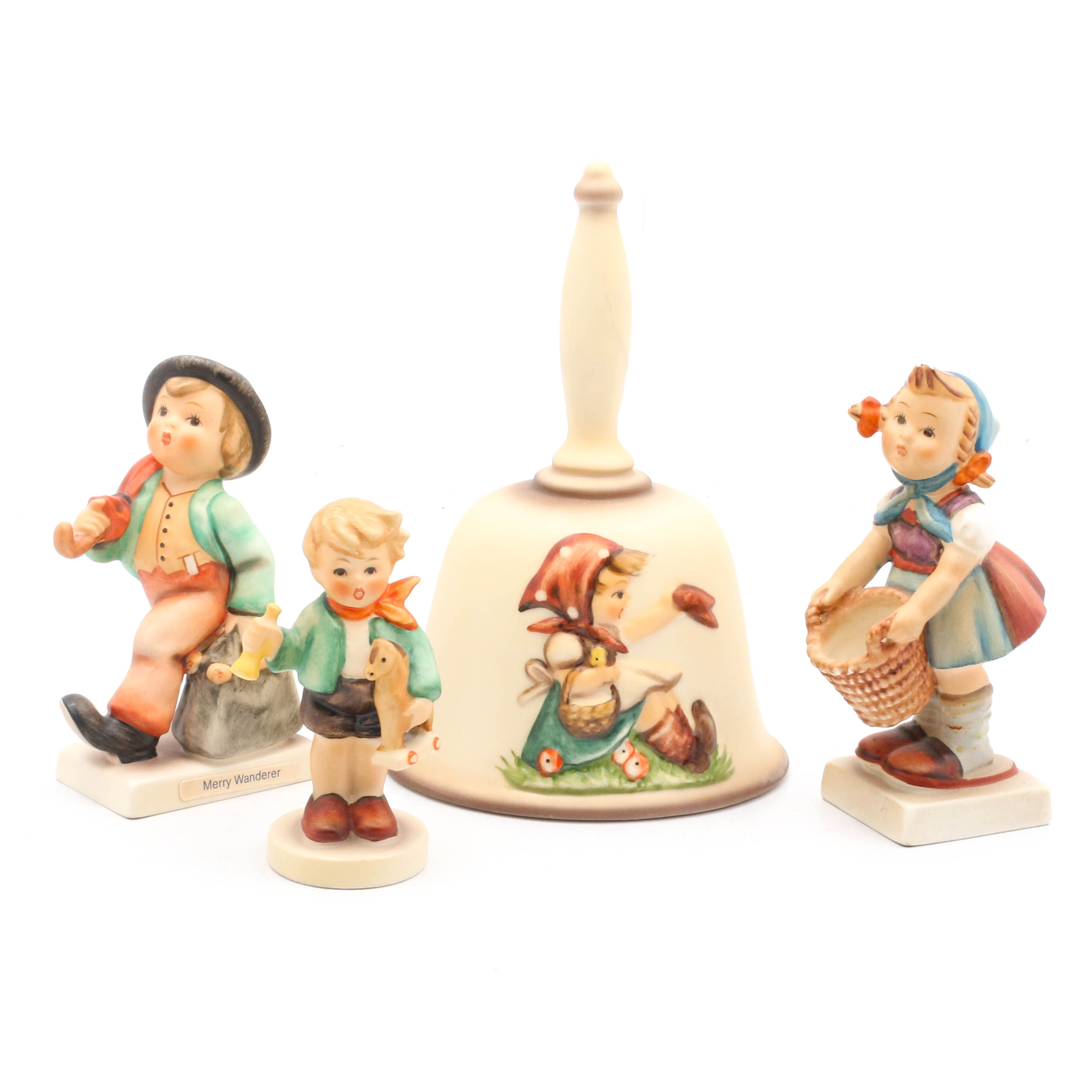 Hummel Bell and Figurines