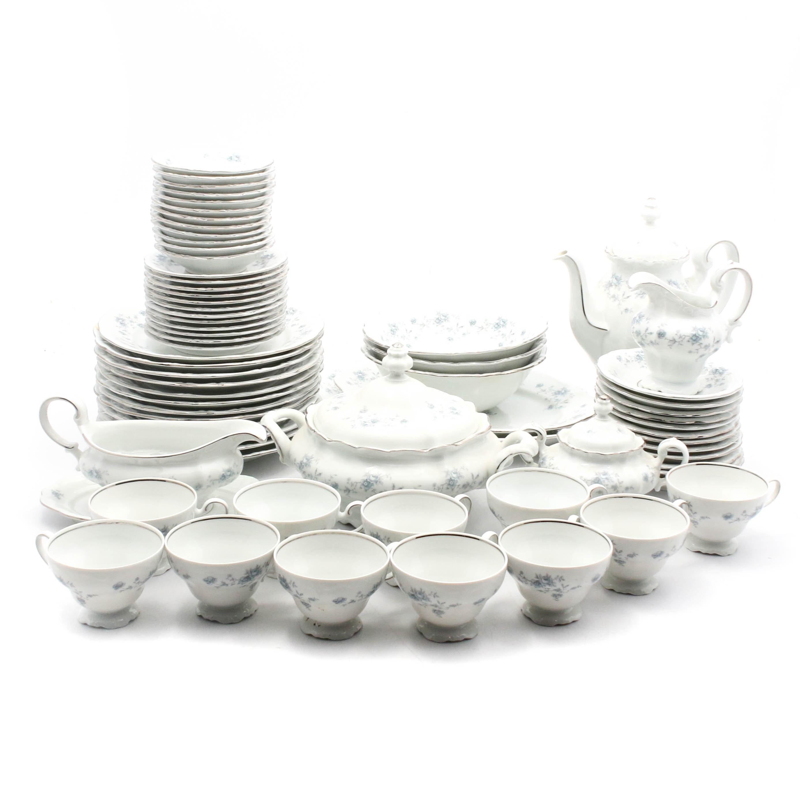 "Johann Haviland ""Blue Garland"" Porcelain Dinnerware"