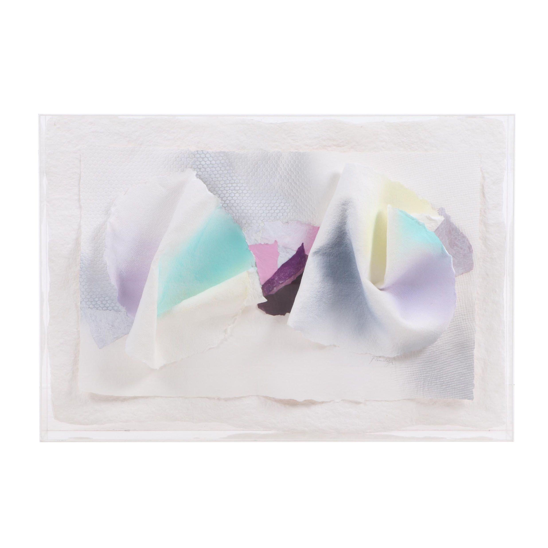 Fernando Pomalaza Papier-mâché Abstract Art