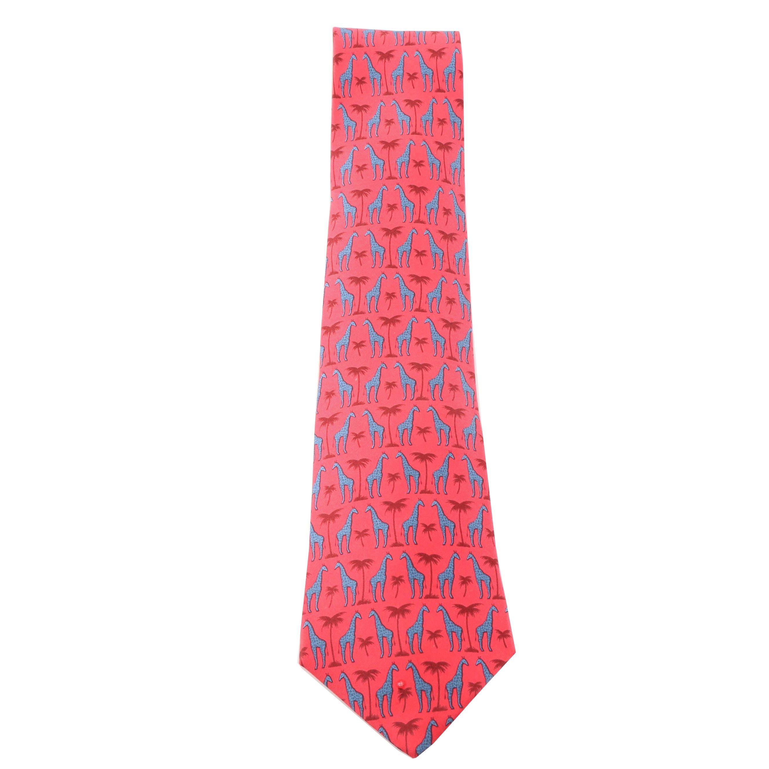 Hermès Paris  7314 EA Silk Necktie