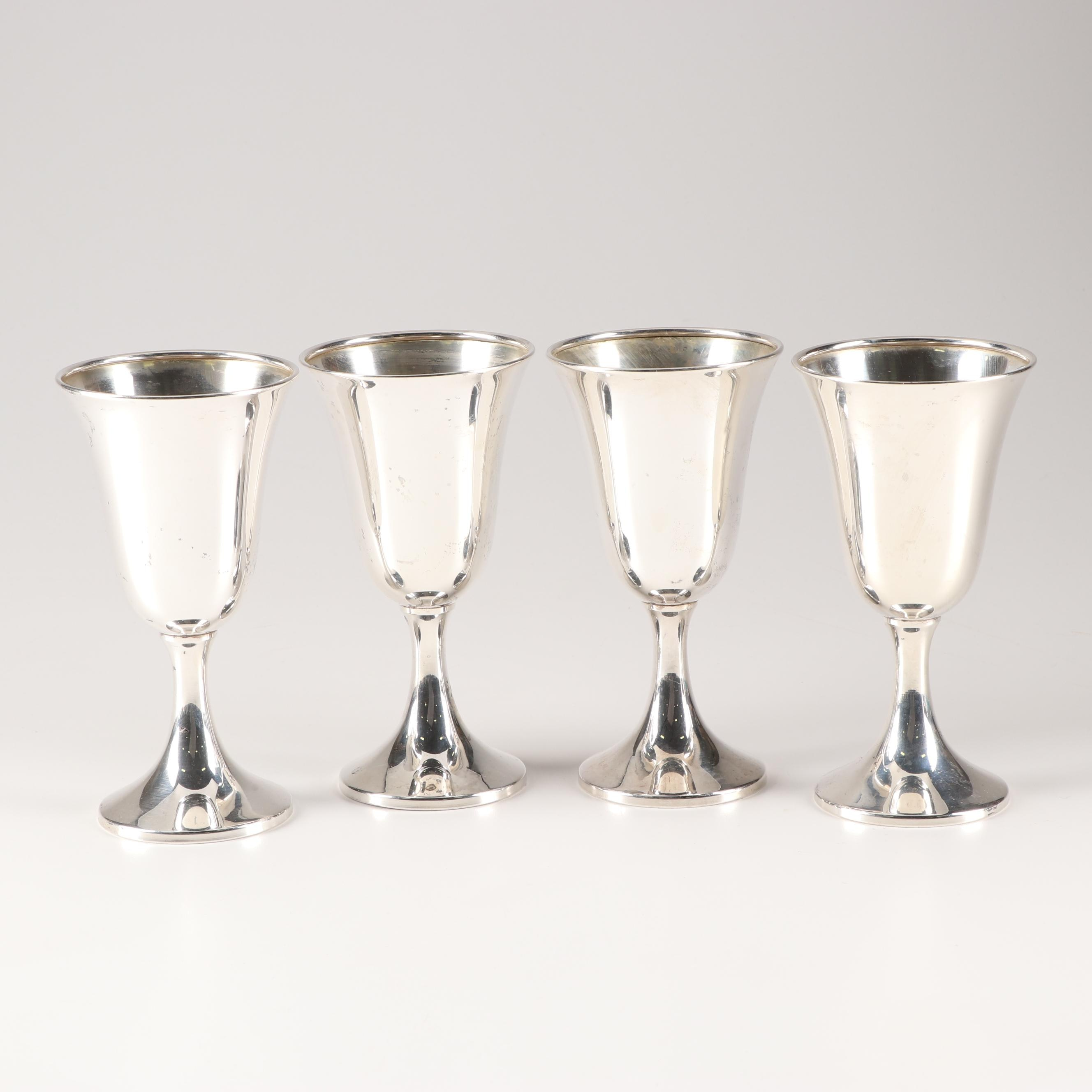 Web Sterling Silver #22 Water Goblets