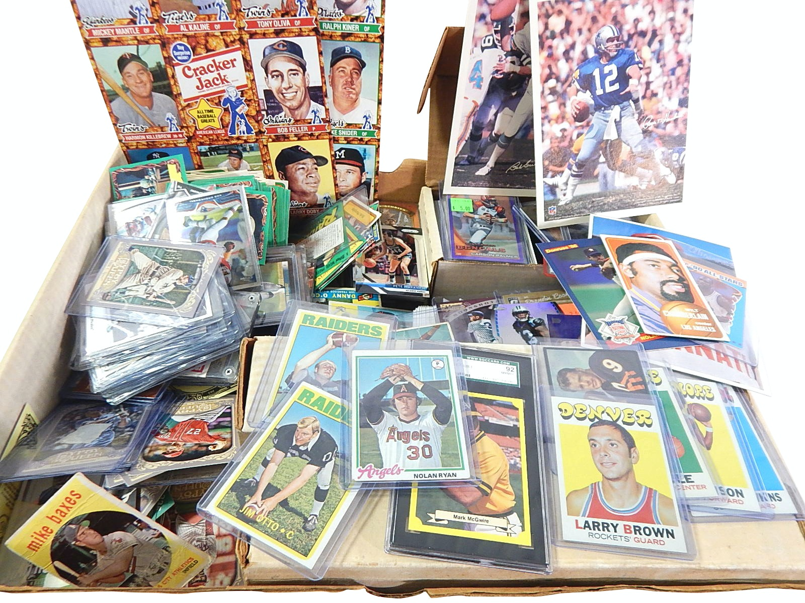 Sports Card Collection from 1950s thru 2000s- Around 2000 Count Lot