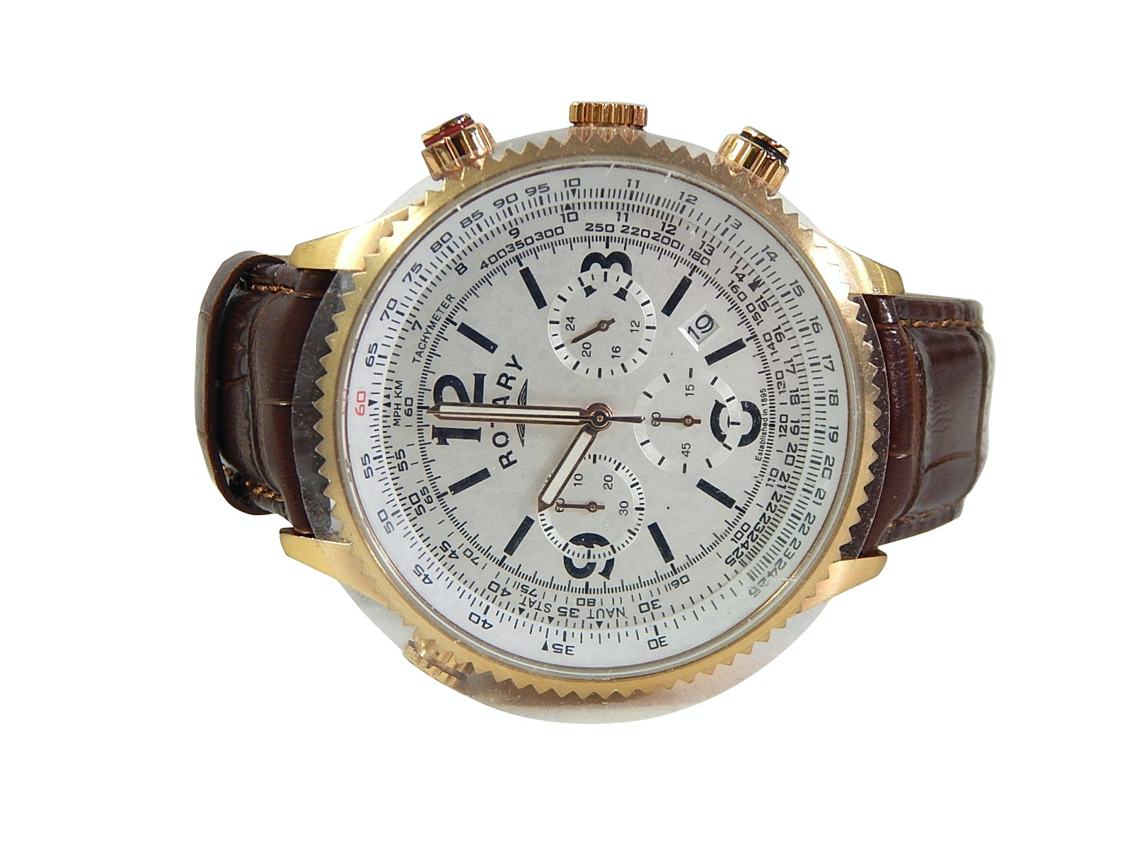 Rotary Chronograph Wristwatch GS00324/01/L (15343)