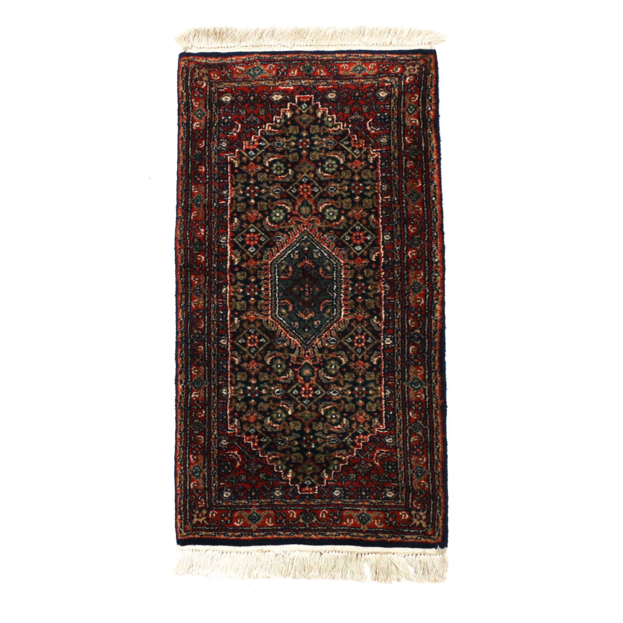 2'0 x 4'4 Hand-Knotted Indo-Persian Bijar Wool Rug