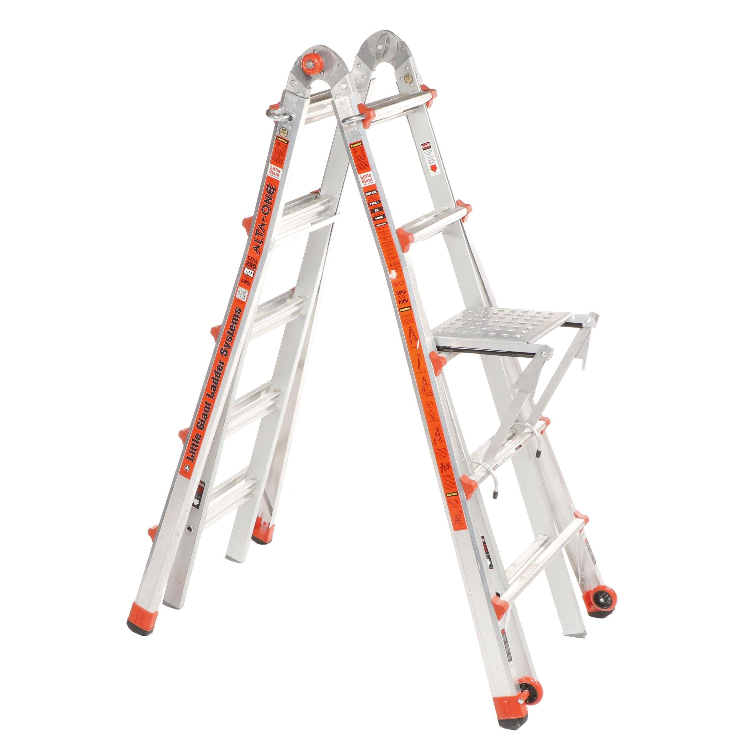 Alta-One Little Giant Model 22 Ladder