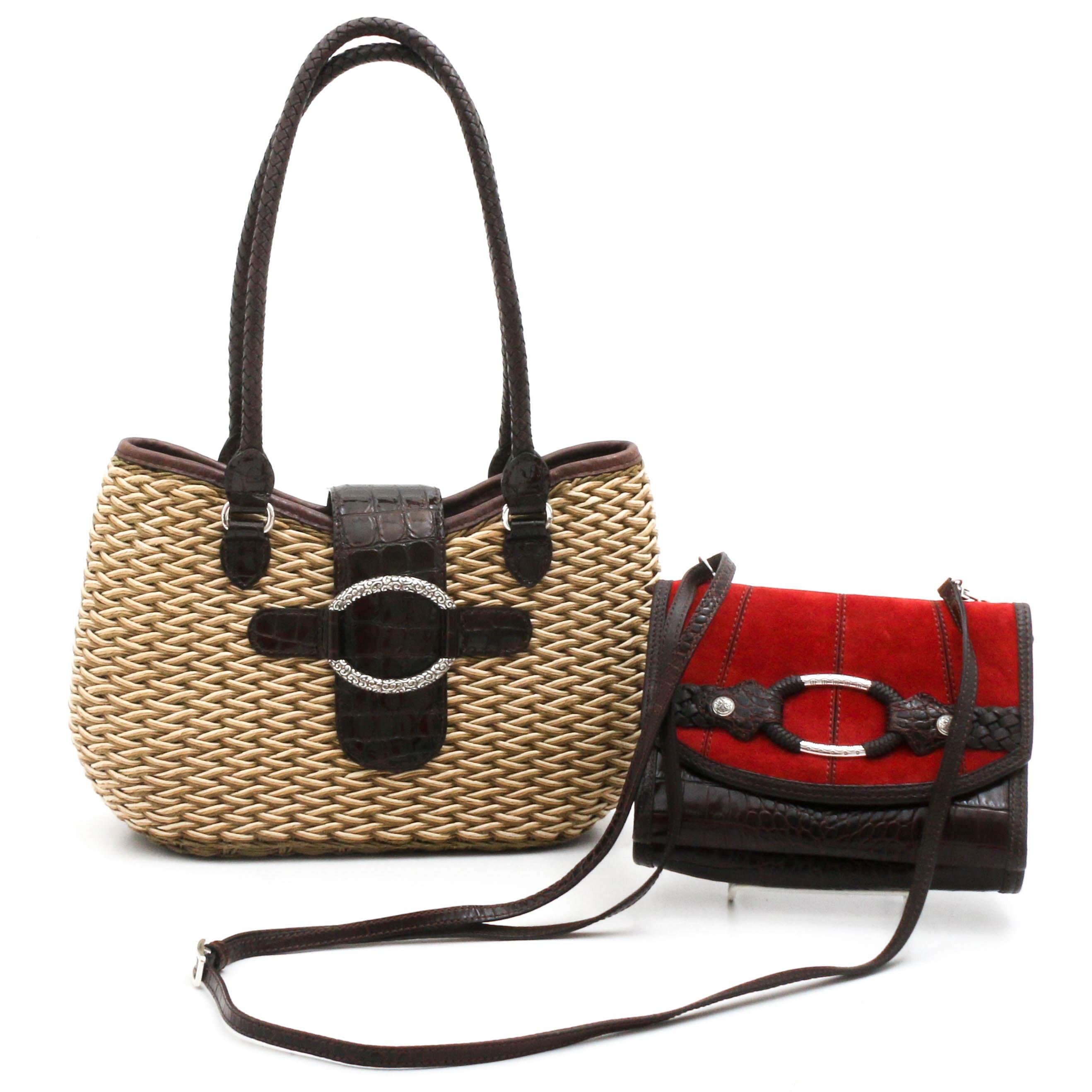 Brighton Handbag and Crossbody Wallet