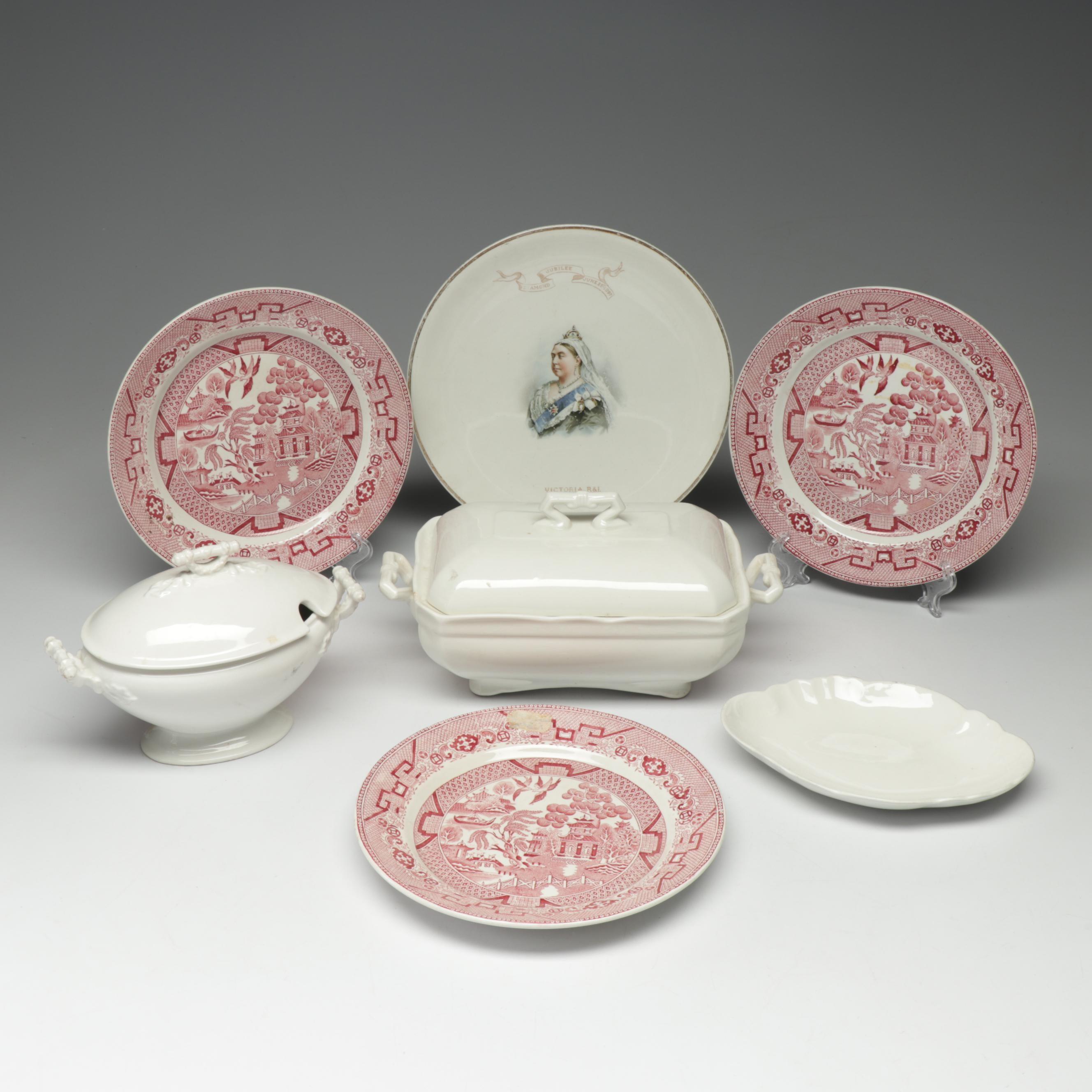 Johnson Bros, John Maddock & Sons and Société Céramique Porcelain Tableware