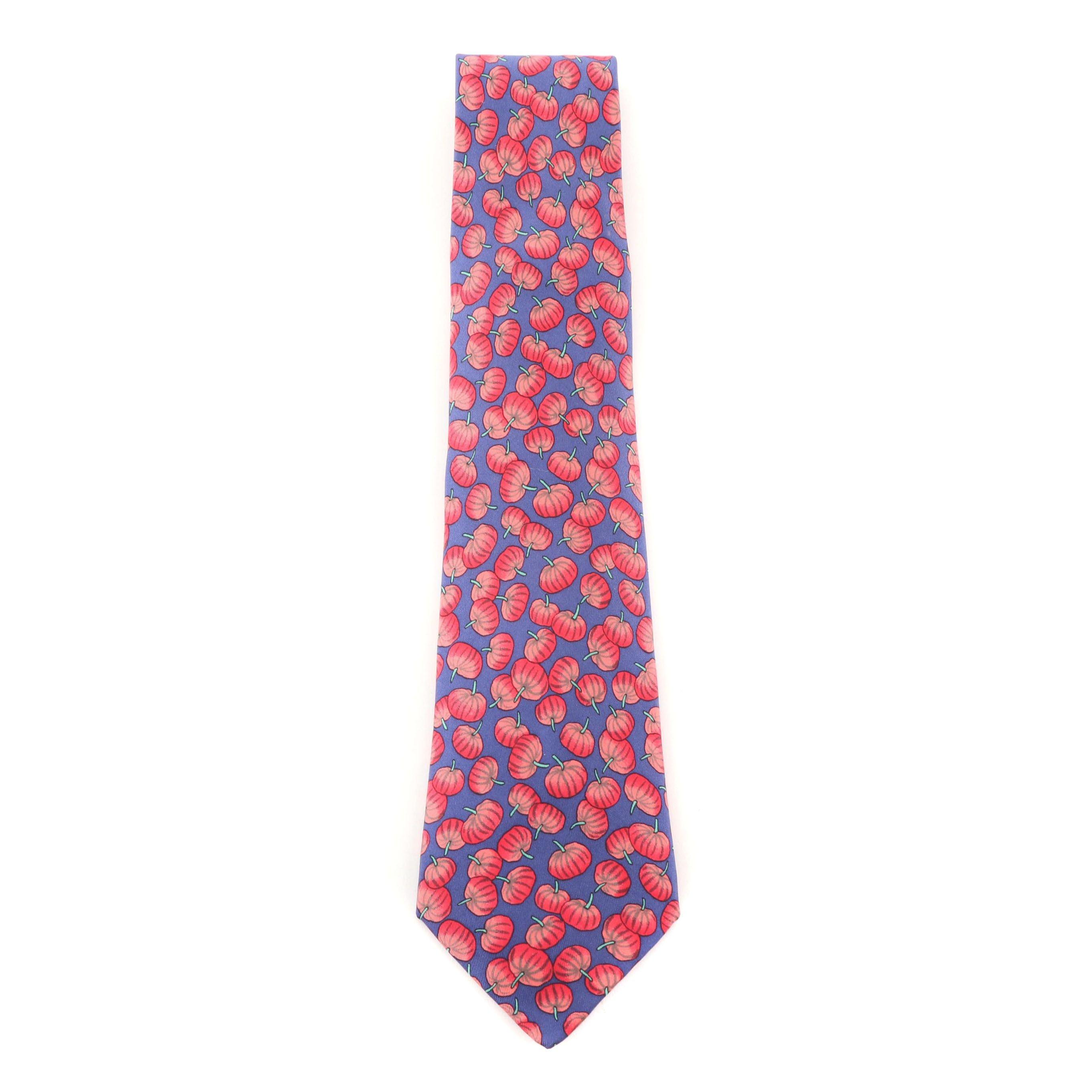 Hermès Paris 7451 HA Silk Necktie