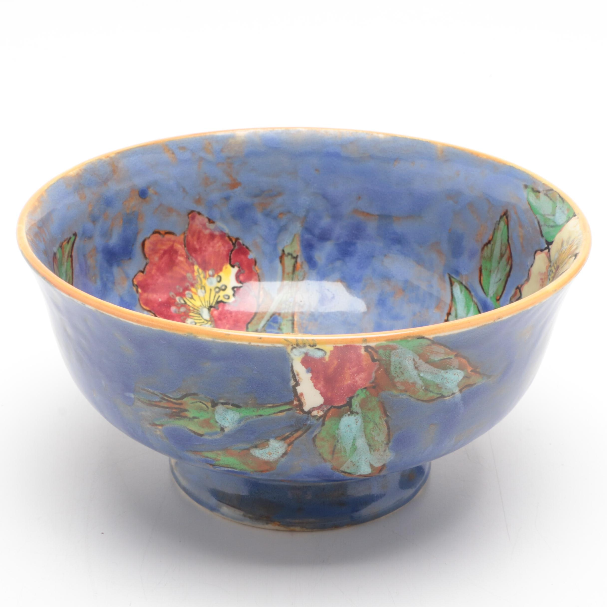Hand-Decorated Royal Doulton Center Bowl