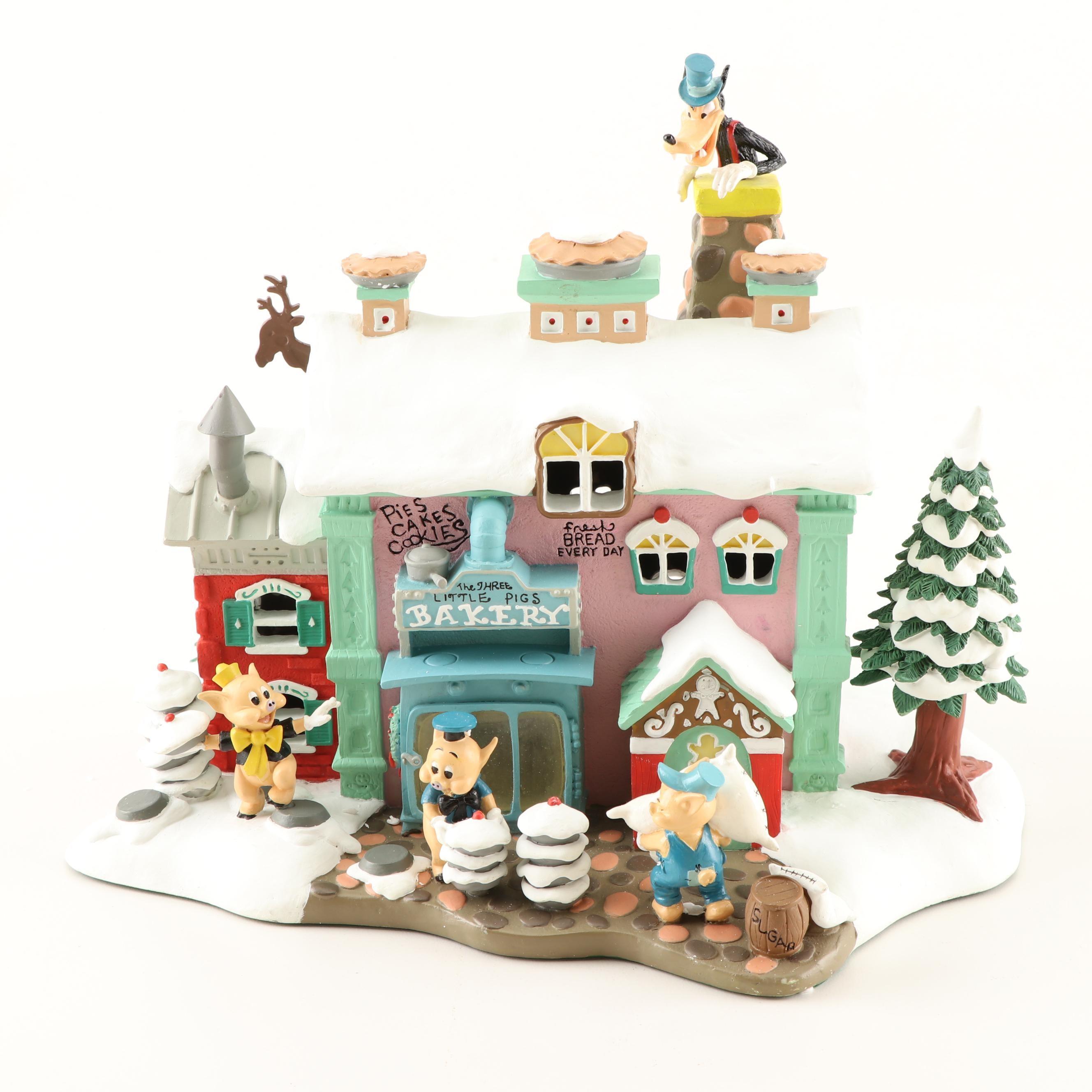 "Disney Winter Wonderland ""The Three Little Pigs Bakery"""