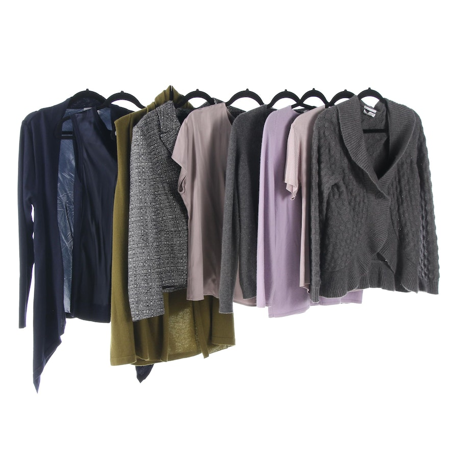 873a53e614e7 Pure Collection Separates with Cashmere and Silk Sweaters | EBTH
