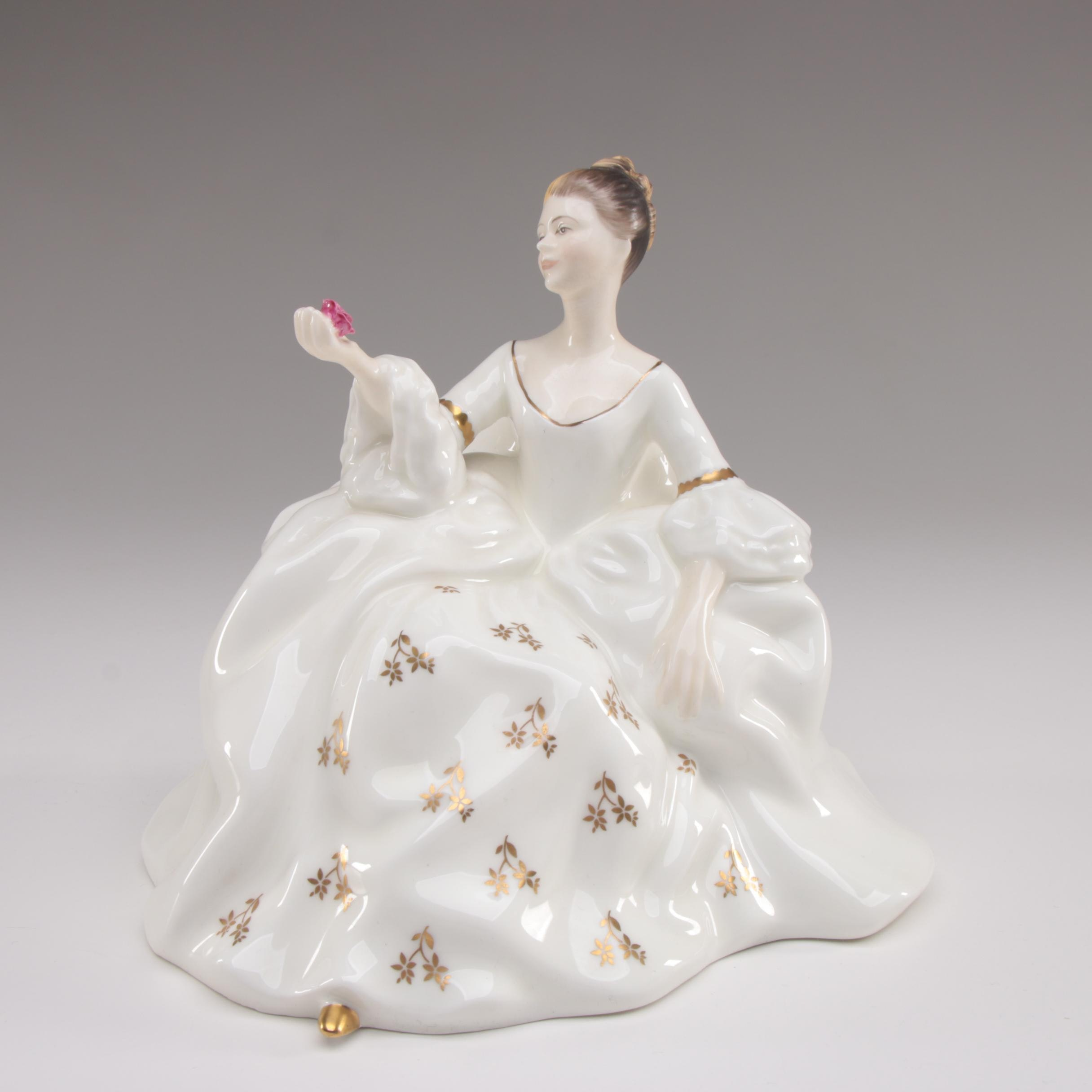 "Royal Doulton ""My Love"" Bone China Figurine, Circa 1969–1996"