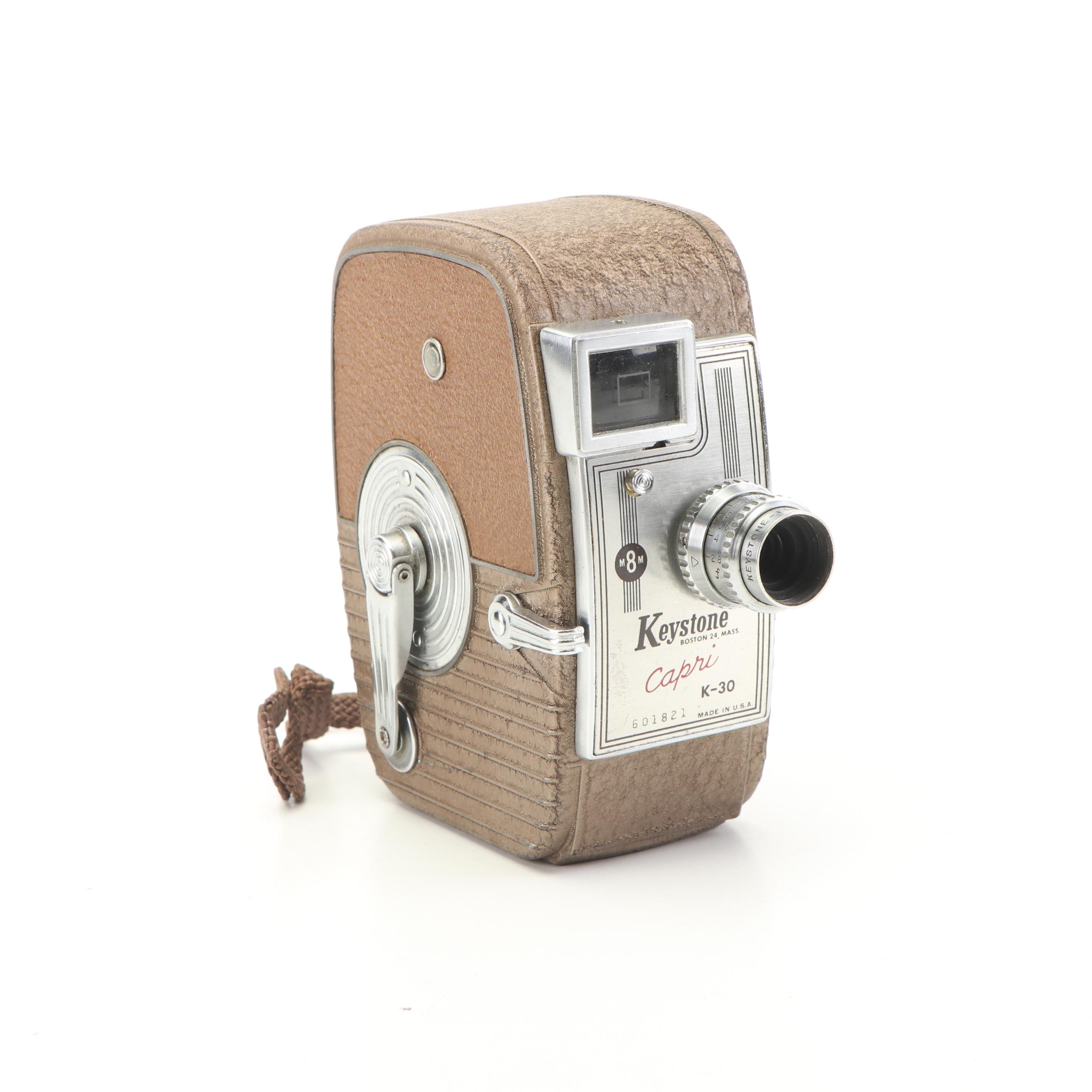 Keystone Capri K-30 8mm Movie Camera