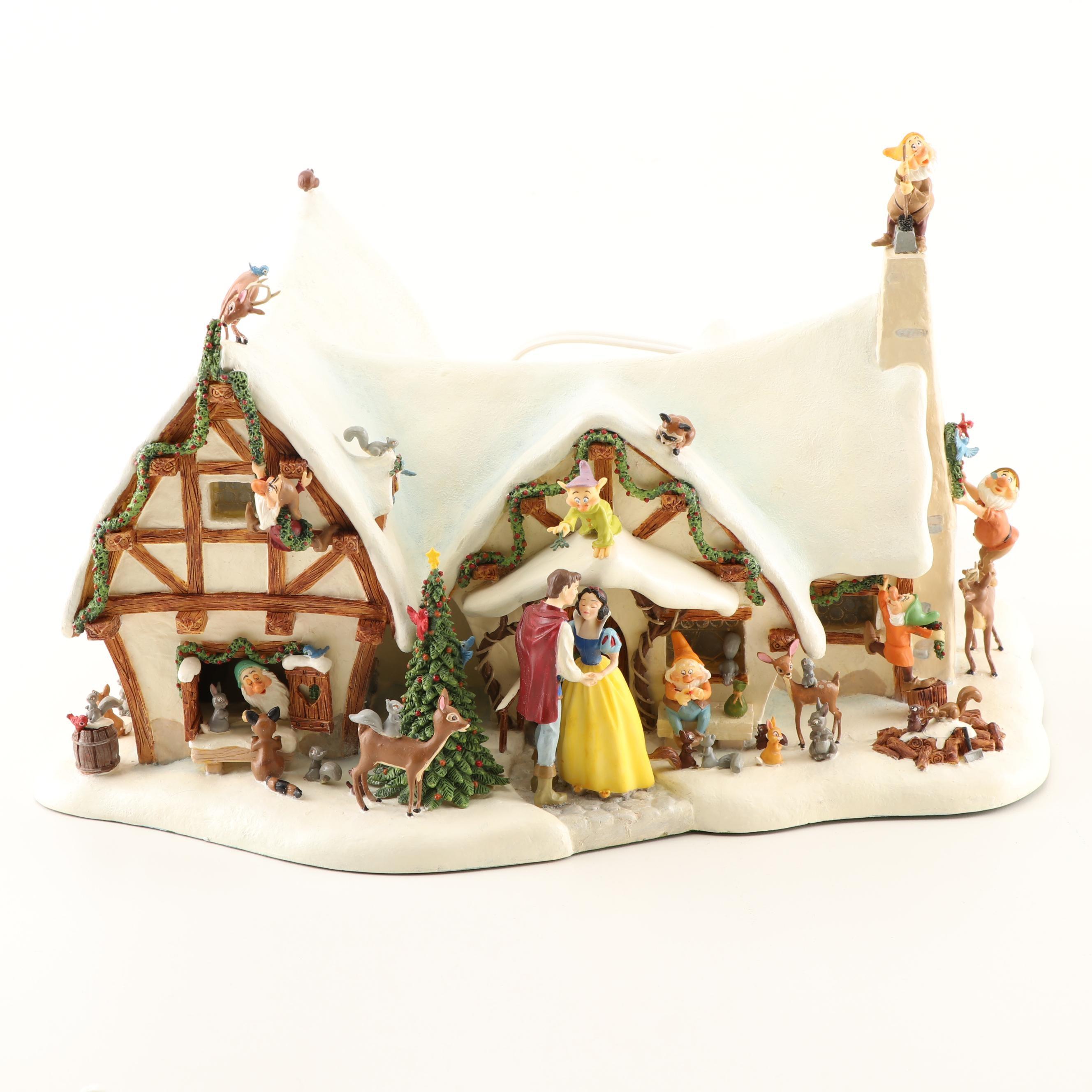 Walt Disney's Snow White Christmas Cottage